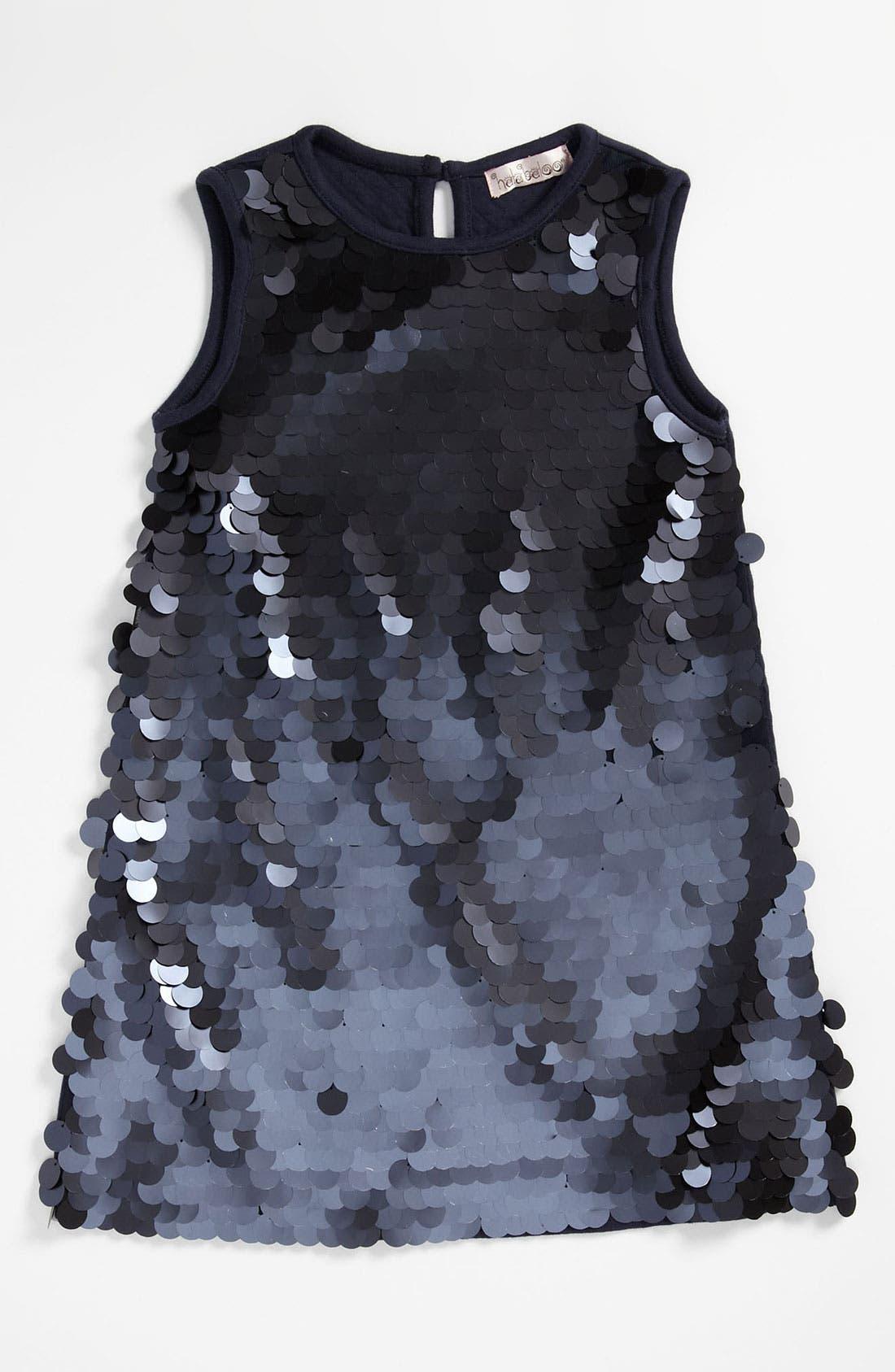 Alternate Image 1 Selected - Halabaloo Paillette Dress (Little Girls & Big Girls)