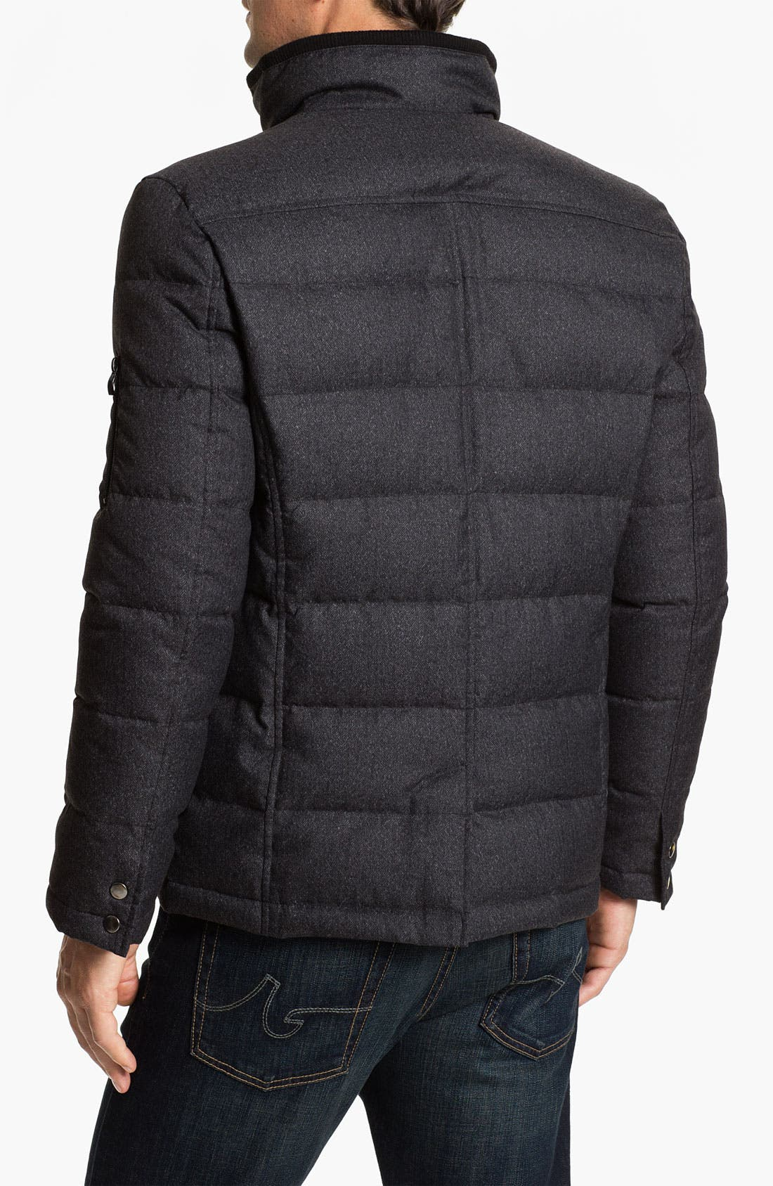 Alternate Image 2  - Cardinal of Canada Quilted Bomber Jacket
