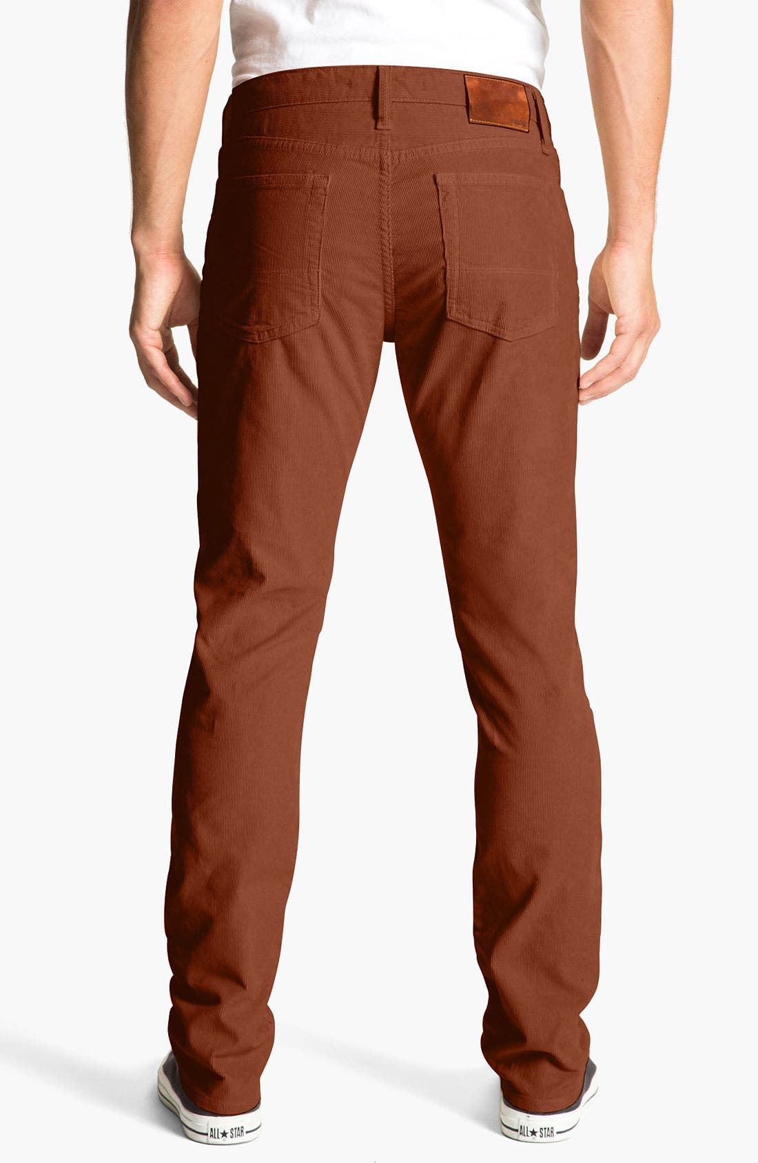 Alternate Image 2  - Vince Slim Straight Leg Corduroy Pants
