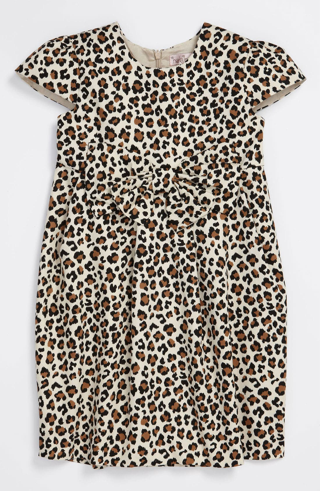 Main Image - Halabaloo Leopard Print Dress (Little Girls & Big Girls)