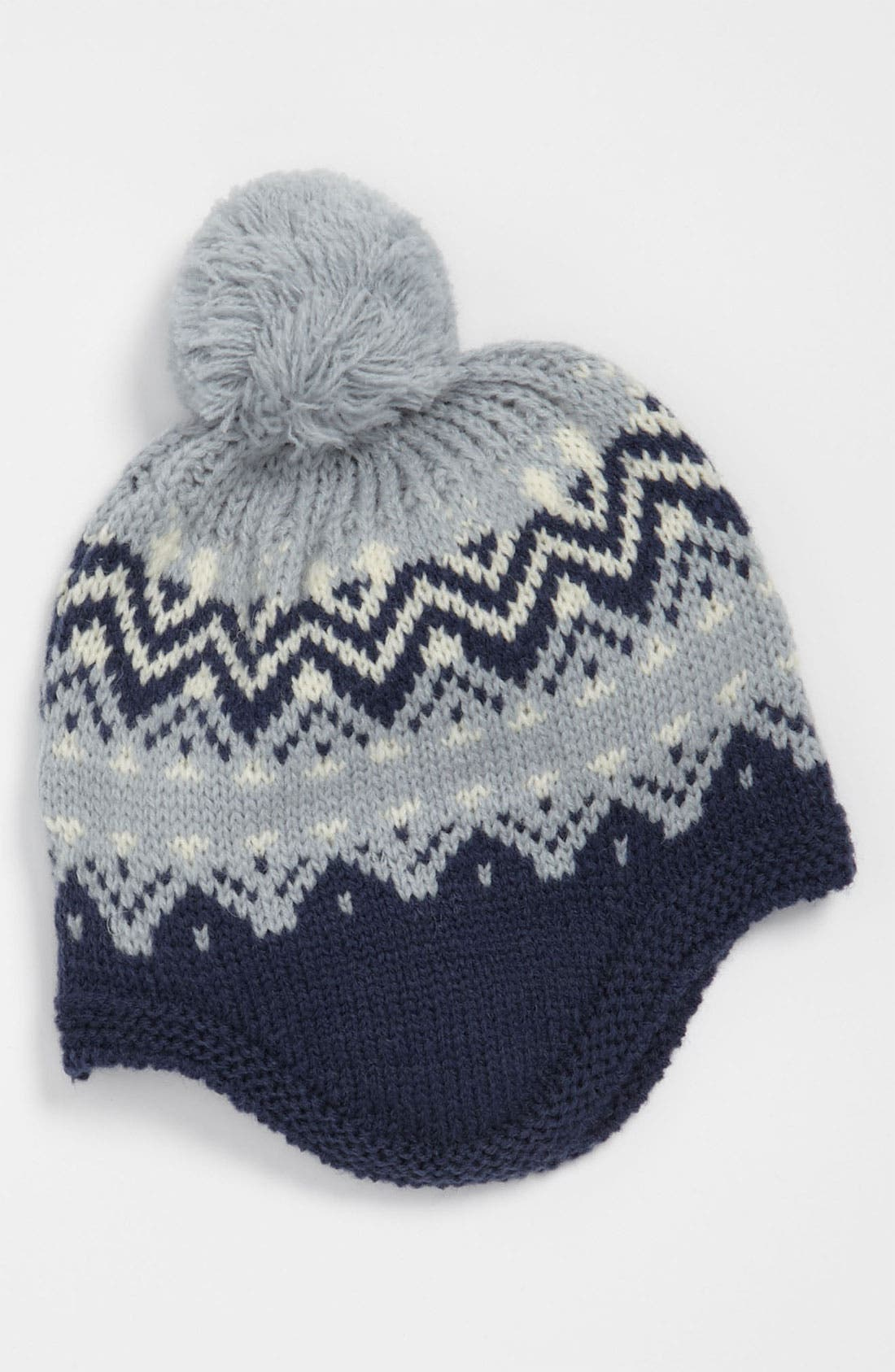 Main Image - United Colors of Benetton Kids Fair Isle Print Hat (Infant)