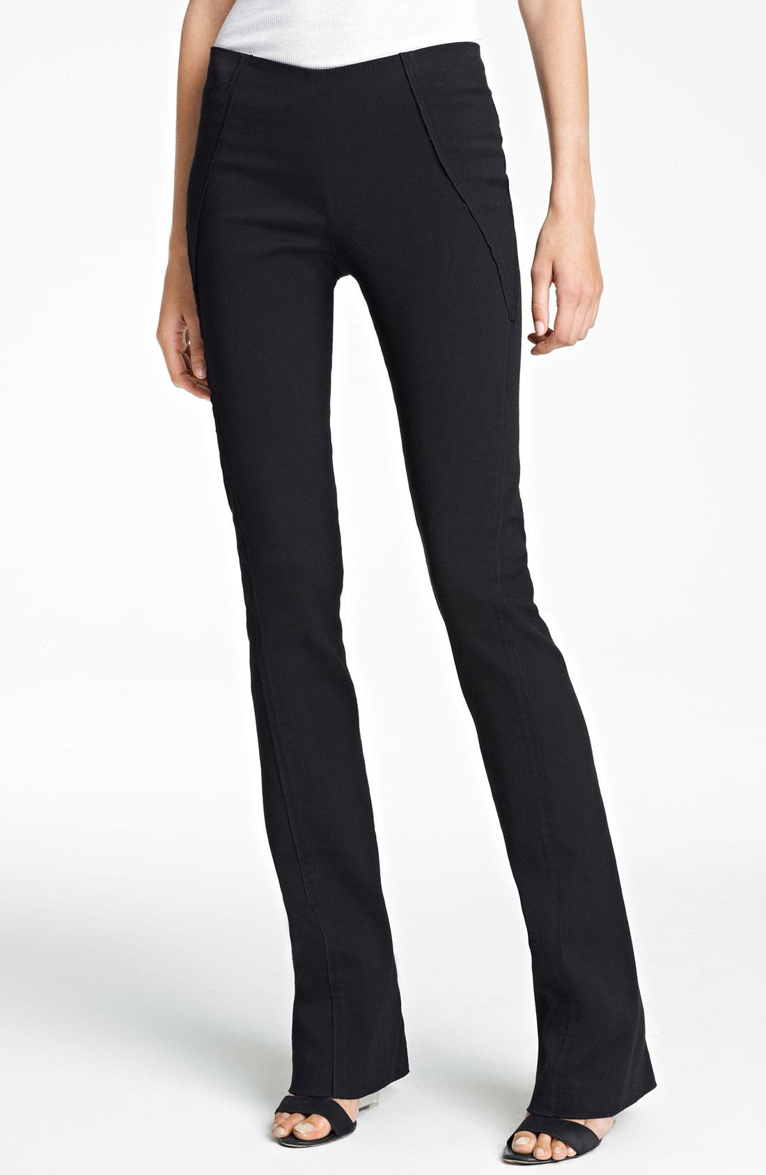 Alternate Image 1 Selected - Donna Karan Collection Seamed Bootcut Pants