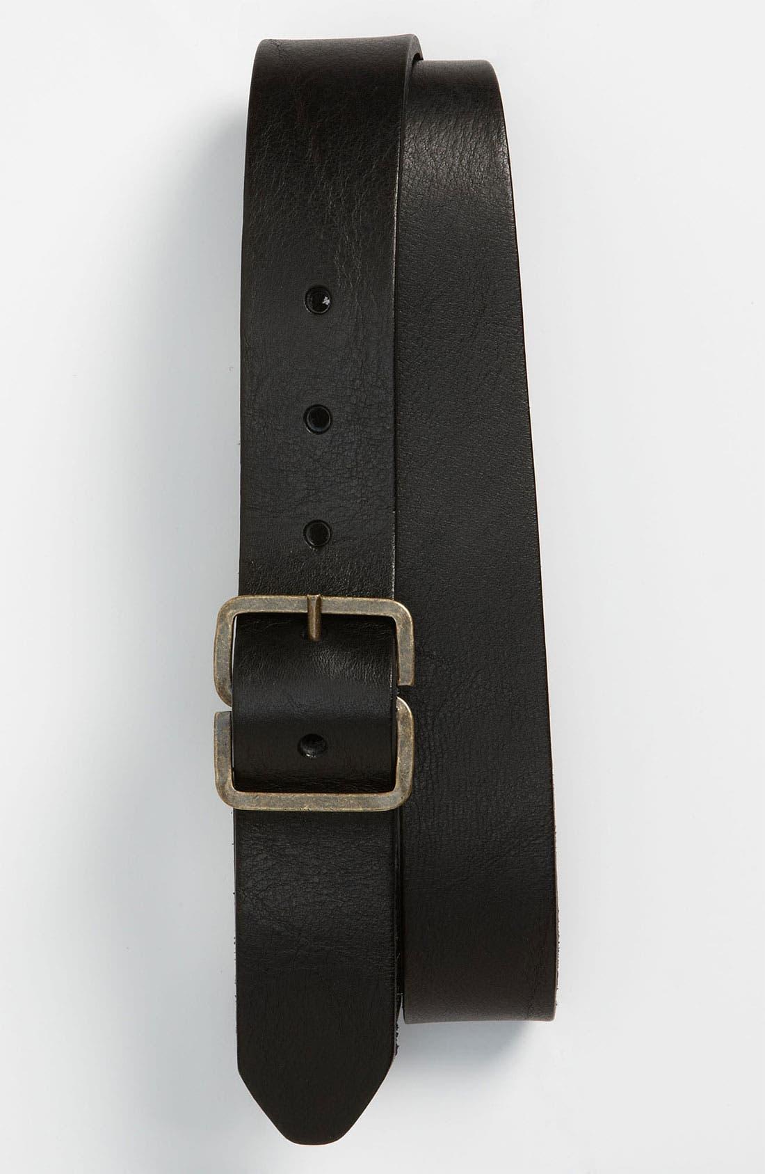 Alternate Image 1 Selected - rag & bone Leather Belt