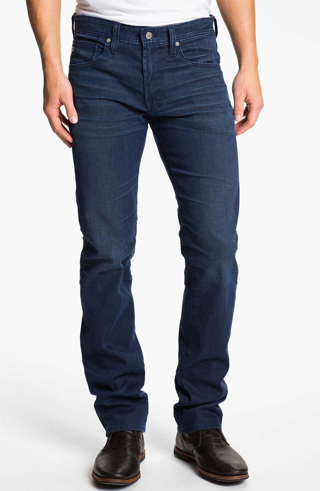 Alternate Image 1 Selected - AG Jeans 'Matchbox' Slim Fit Jeans (3 Year Coated)