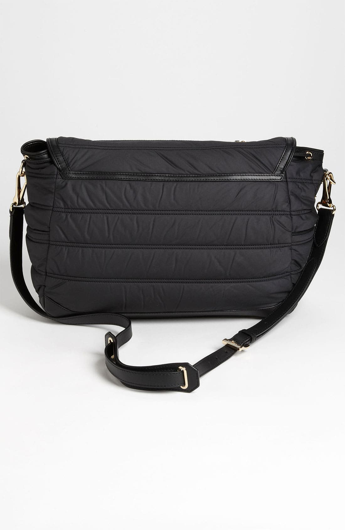 Alternate Image 4  - Burberry Quilted Diaper Bag