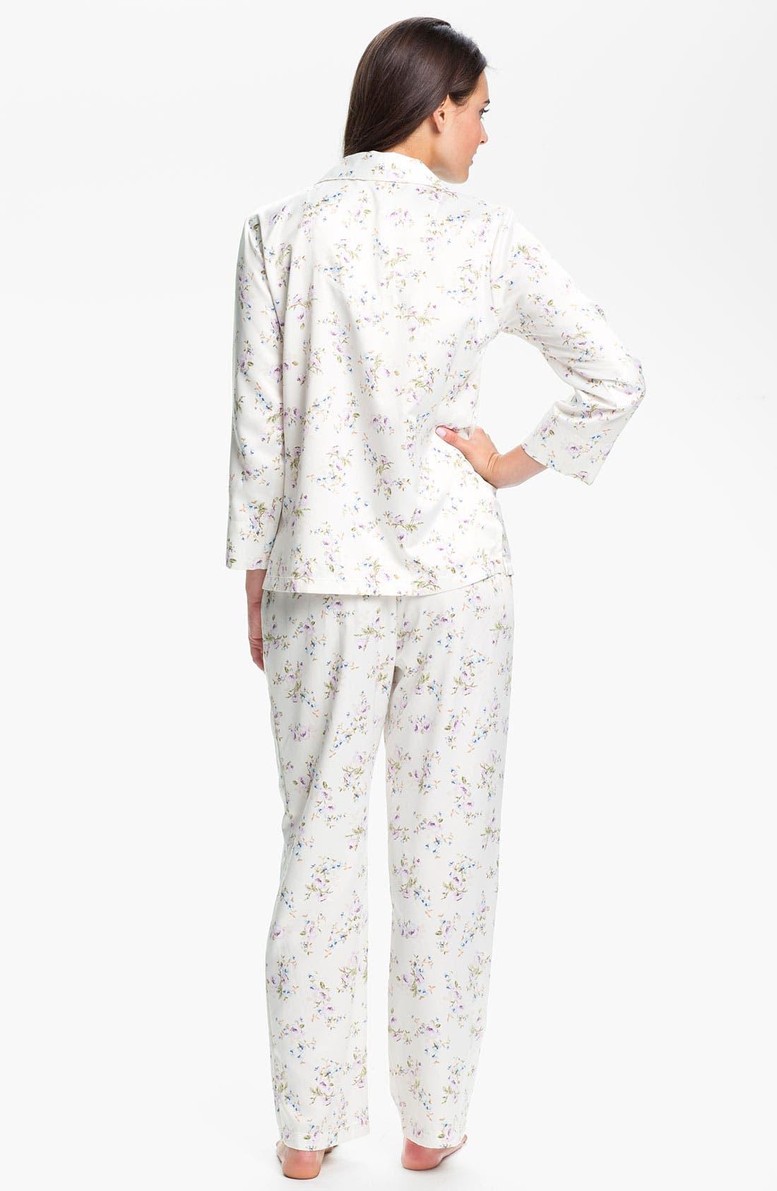 Alternate Image 2  - Carole Hochman 'Cozy Back Satin' Pajamas