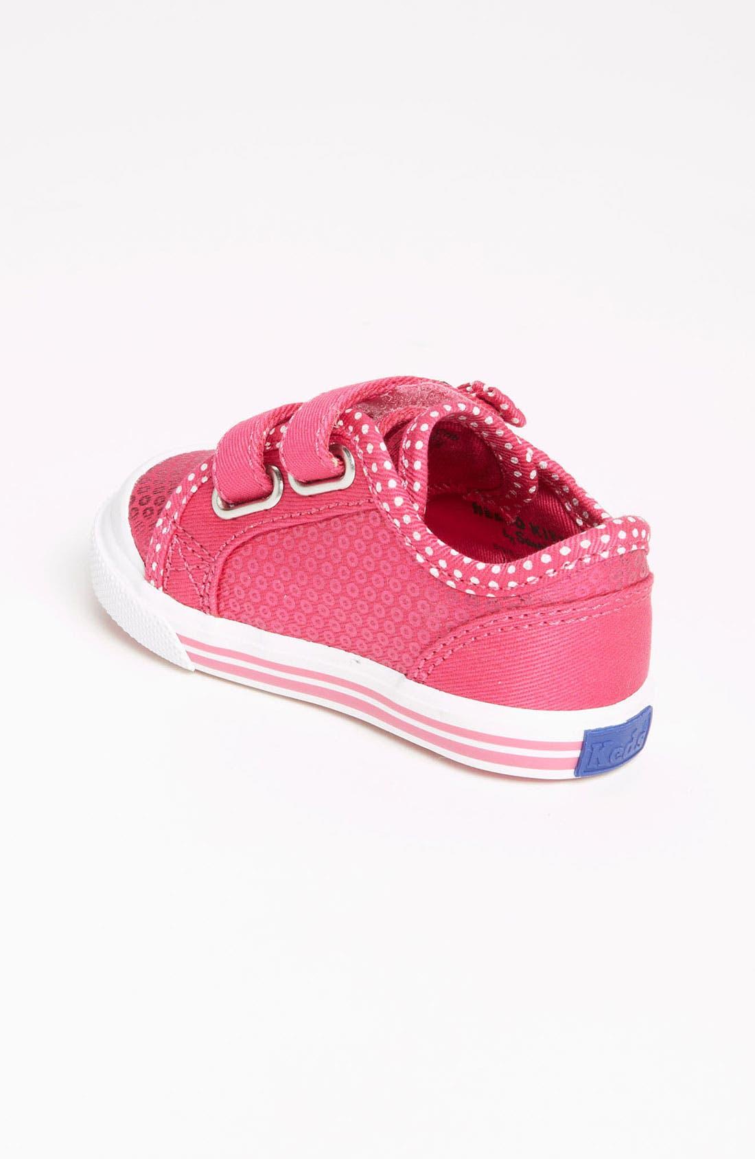 Alternate Image 2  - Keds® 'Mimmy' Crib Shoe (Baby)