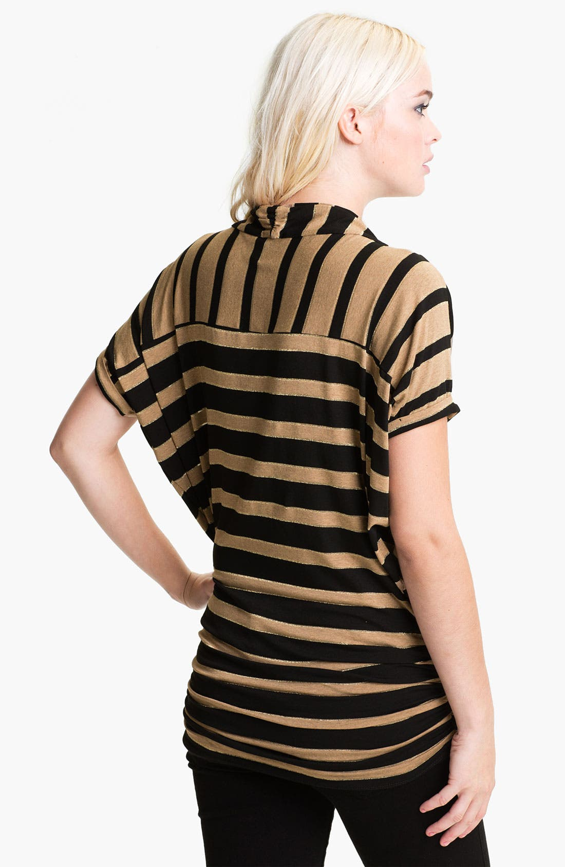 Alternate Image 2  - Ella Moss 'Astoria' Stripe Slouchy Surplice Top