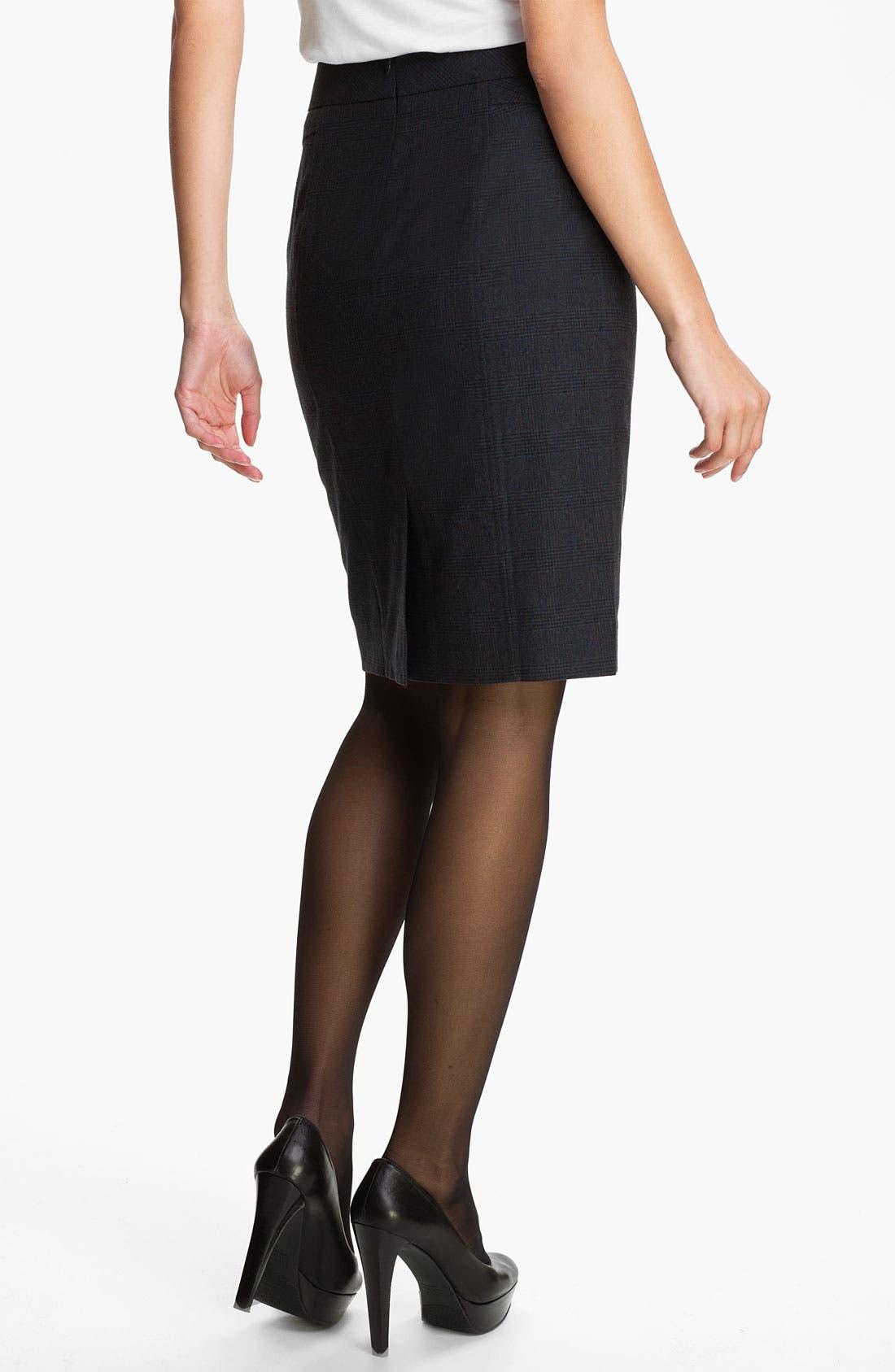 Alternate Image 2  - Classiques Entier® 'Adima Check' Skirt