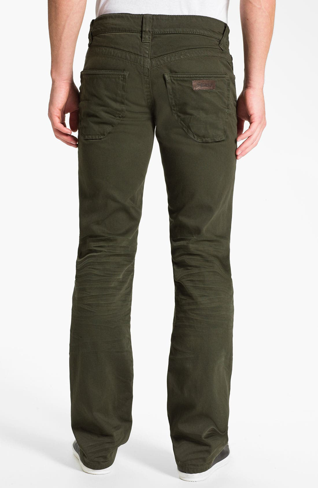 Alternate Image 1 Selected - Stitch's Jeans Twill Straight Leg Pants