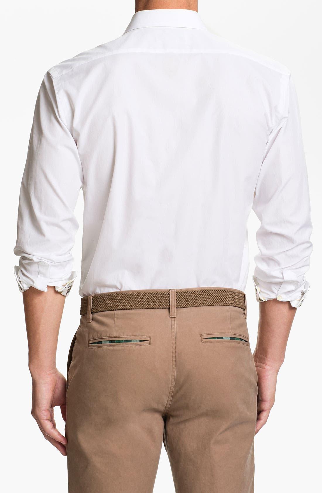Alternate Image 2  - Thomas Dean 'Louisiana State' Regular Fit Sport Shirt