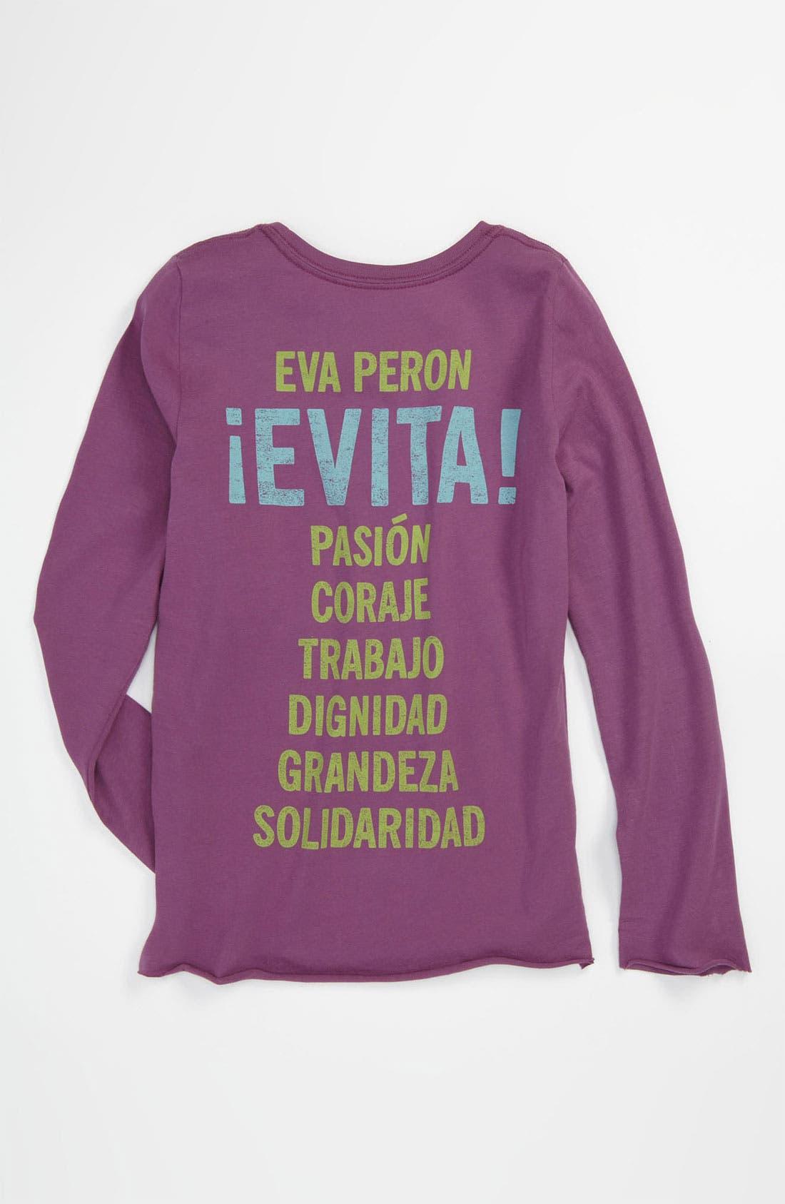 Alternate Image 2  - Peek 'Evita' Tee (Toddler, Little Girls & Big Girls)