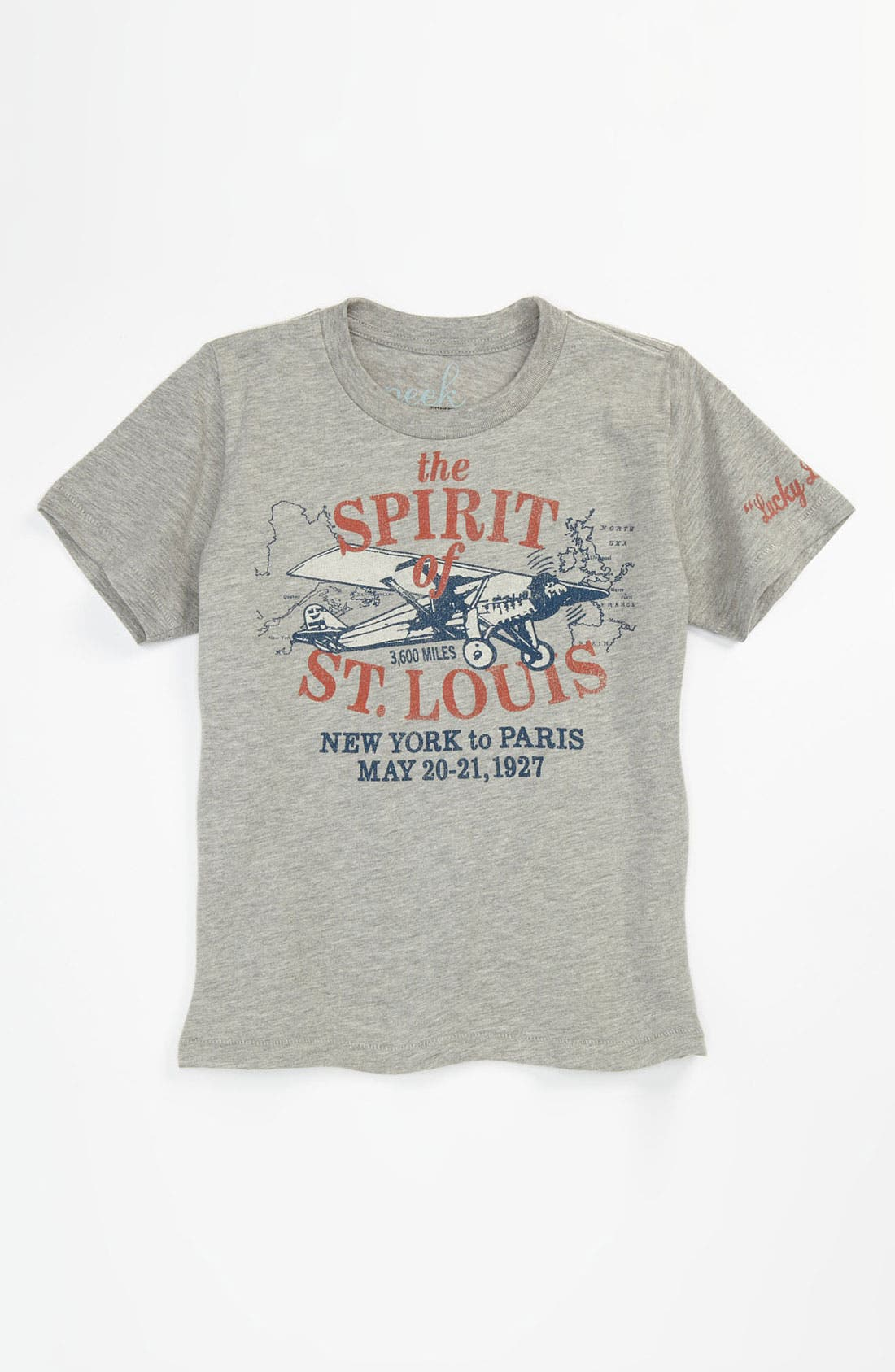 Alternate Image 1 Selected - Peek 'Spirit of St. Louis' T-Shirt (Toddler, Little Boys & Big Boys)