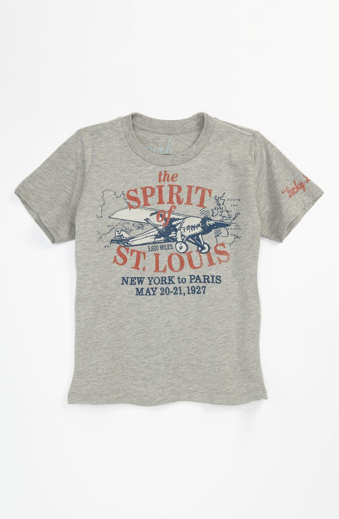Main Image - Peek 'Spirit of St. Louis' T-Shirt (Toddler, Little Boys & Big Boys)