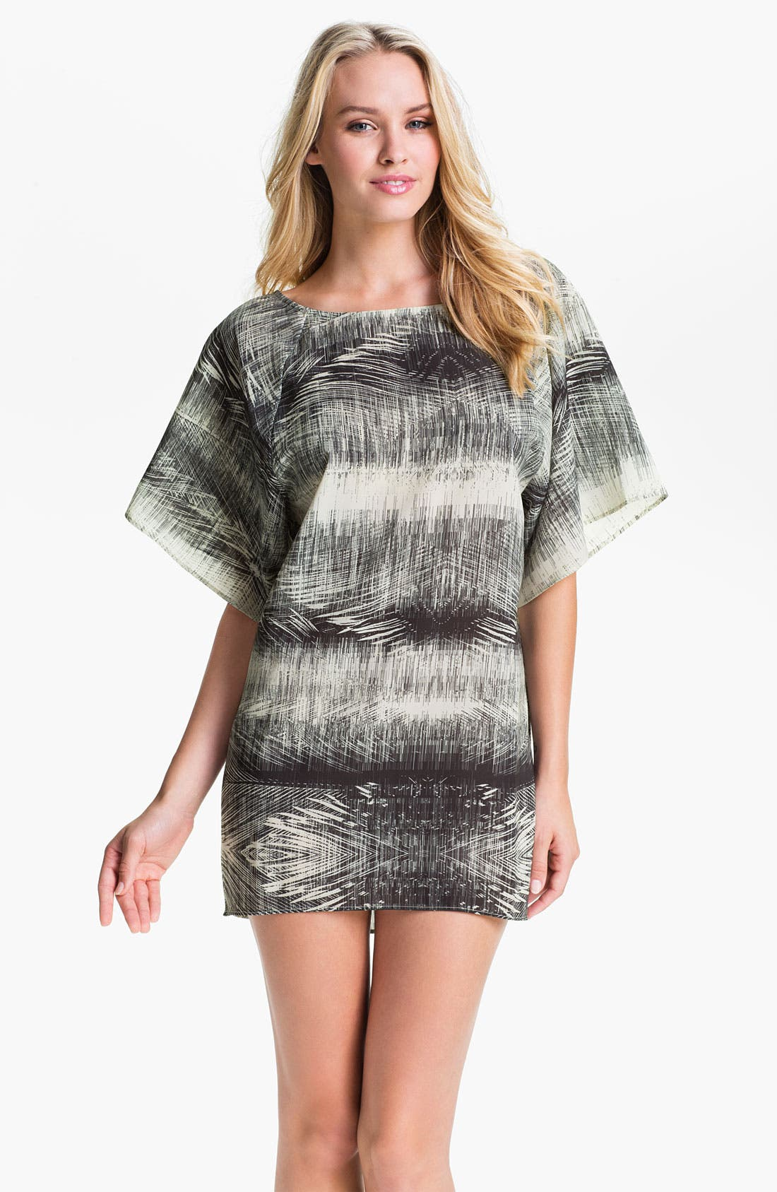Main Image - Halogen® 'New Crosses' Tunic Cover-Up