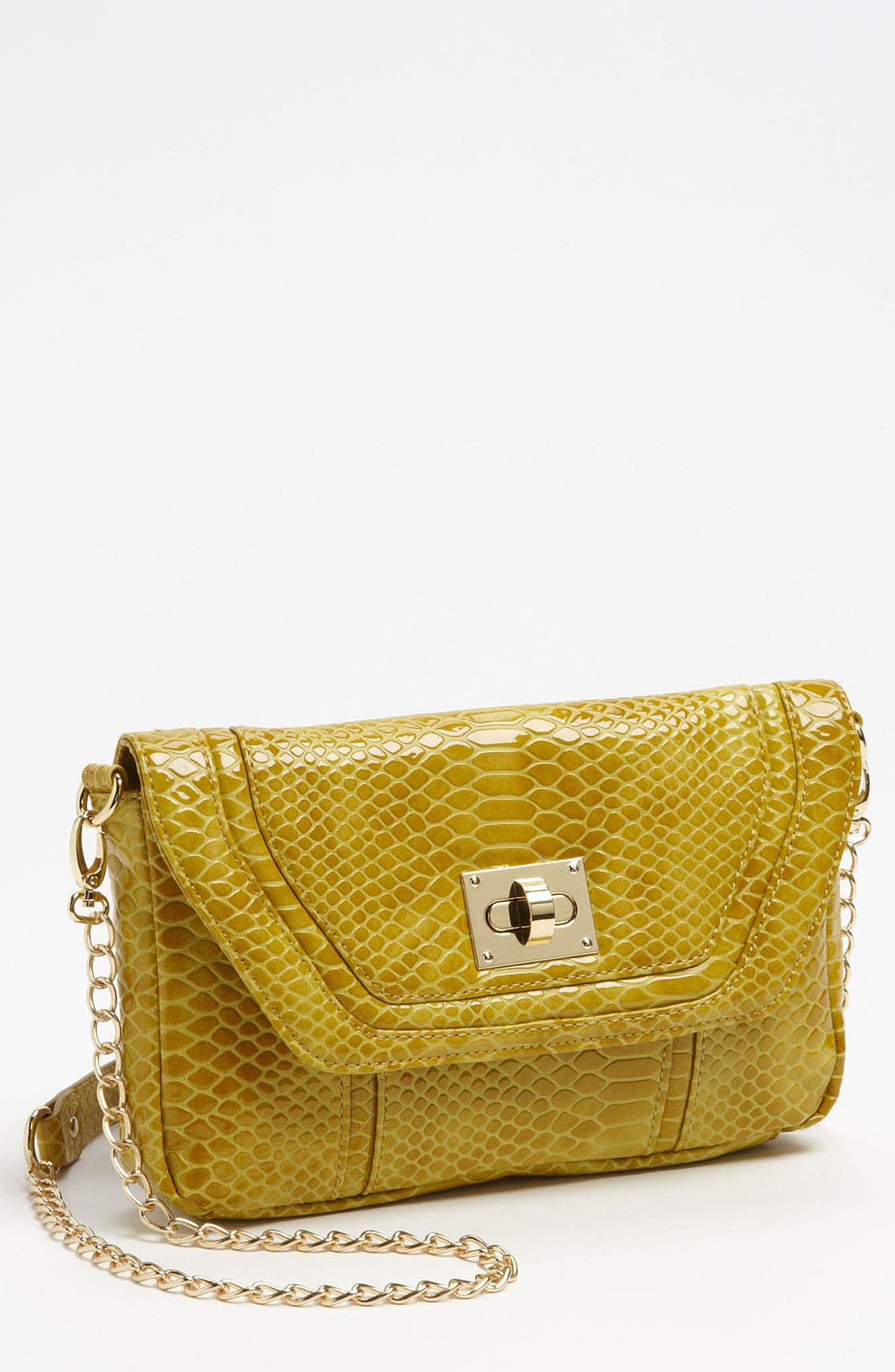 Alternate Image 1 Selected - Steven by Steve Madden 'Sugar' Snake Embossed Clutch