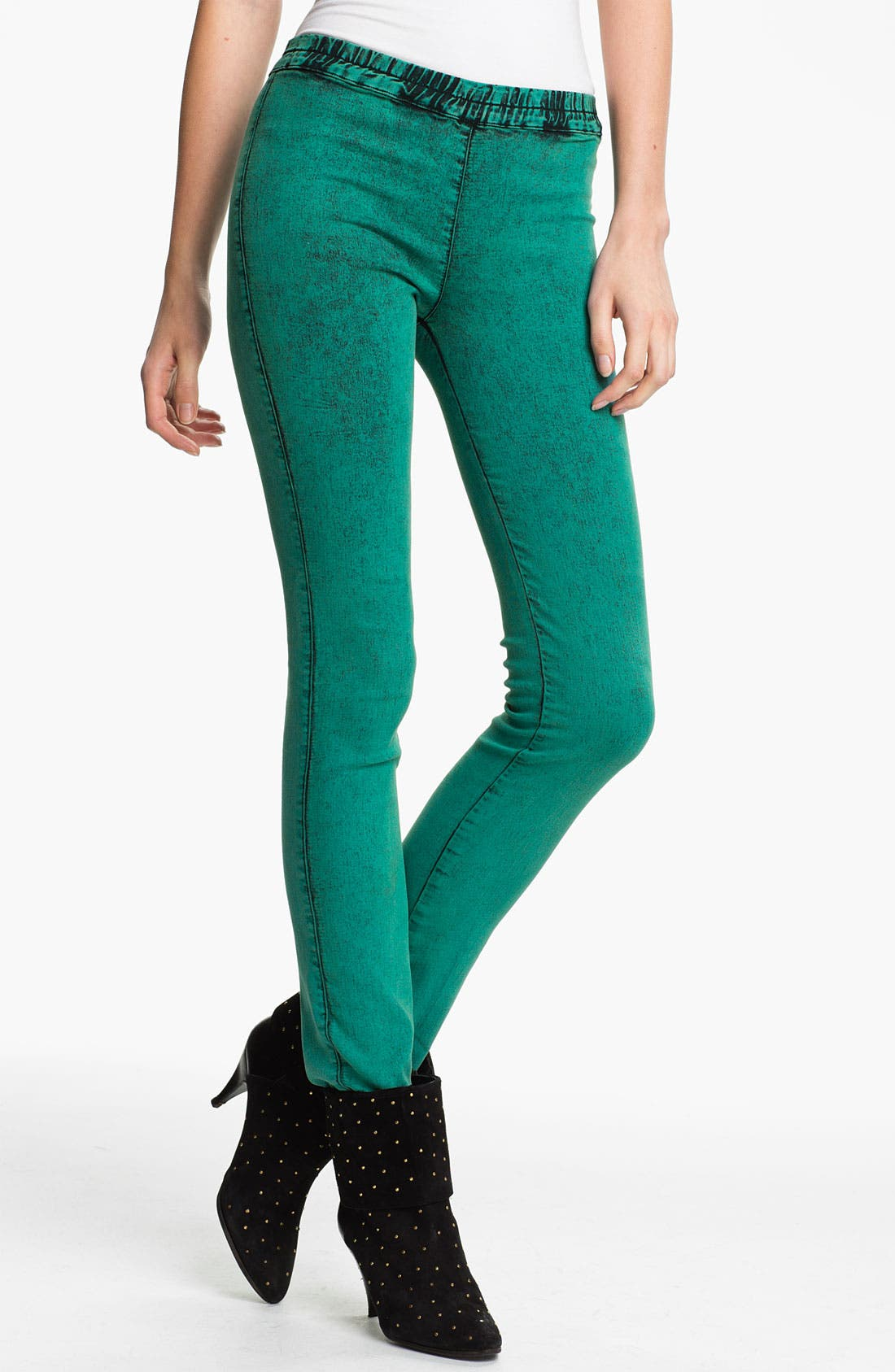 Alternate Image 1 Selected - Kelly Wearstler 'Mineral Wash' Stretch Twill Leggings