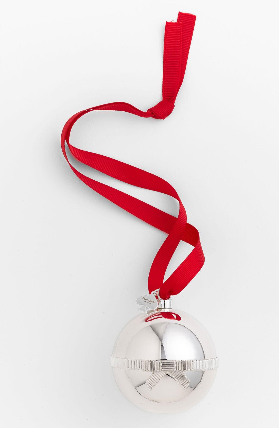 Alternate Image 1 Selected - kate spade new york 'surprise ball' ornament