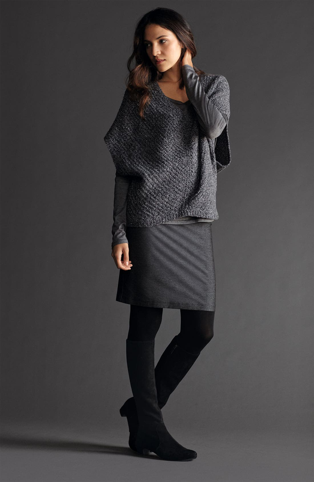 Alternate Image 4  - Eileen Fisher Mélange Knit Sweater