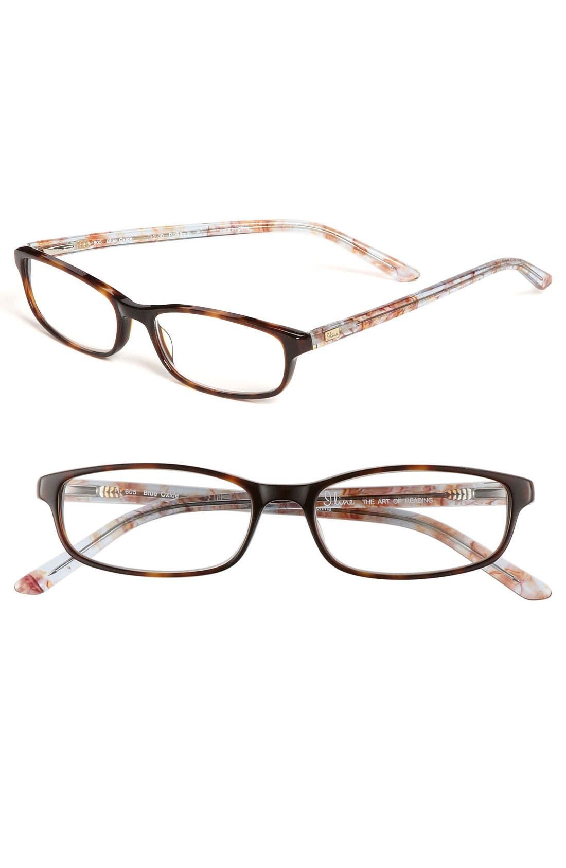 Alternate Image 1 Selected - I Line Eyewear 'Blue Oxide' Reading Glasses