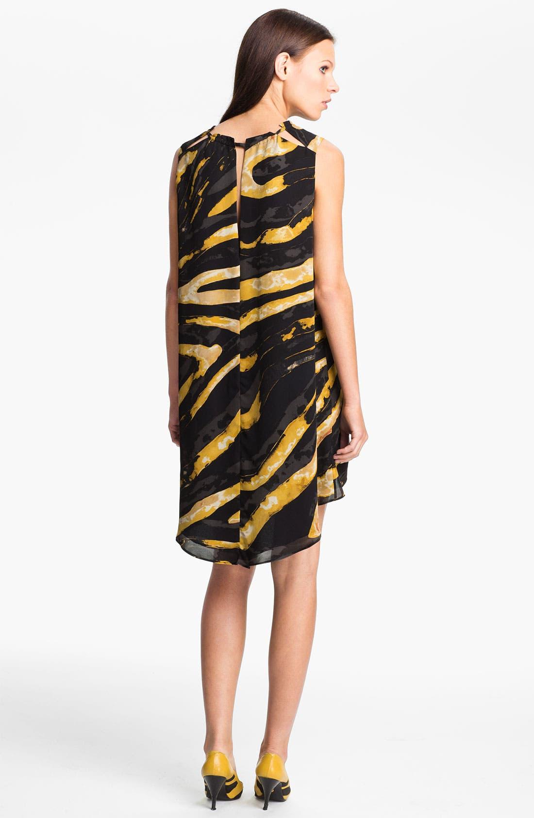 Alternate Image 2  - Kelly Wearstler 'Hidden Dragon Current' Silk Dress