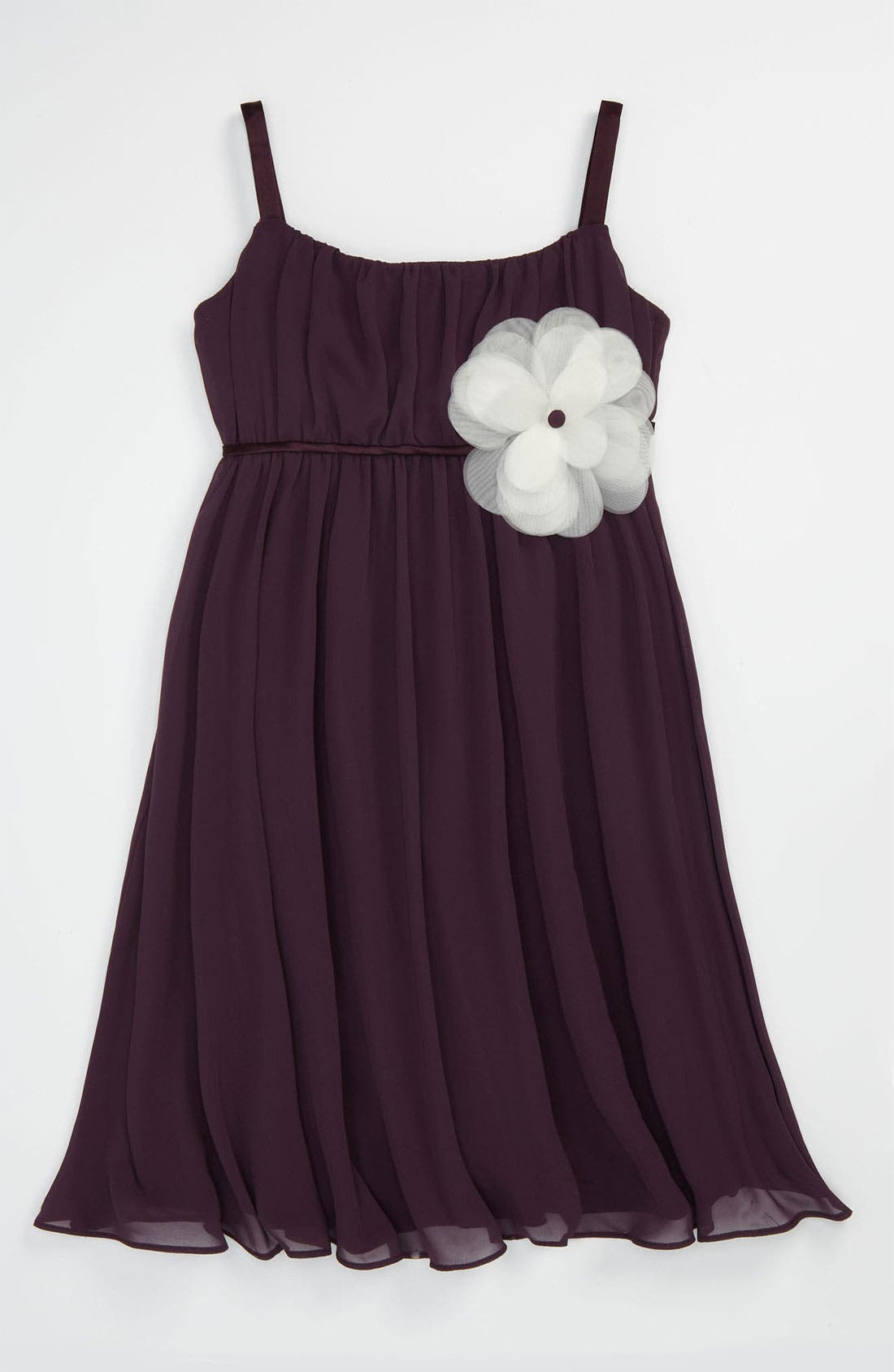 Alternate Image 1 Selected - Us Angels Empire Waist Dress (Little Girls & Big Girls)