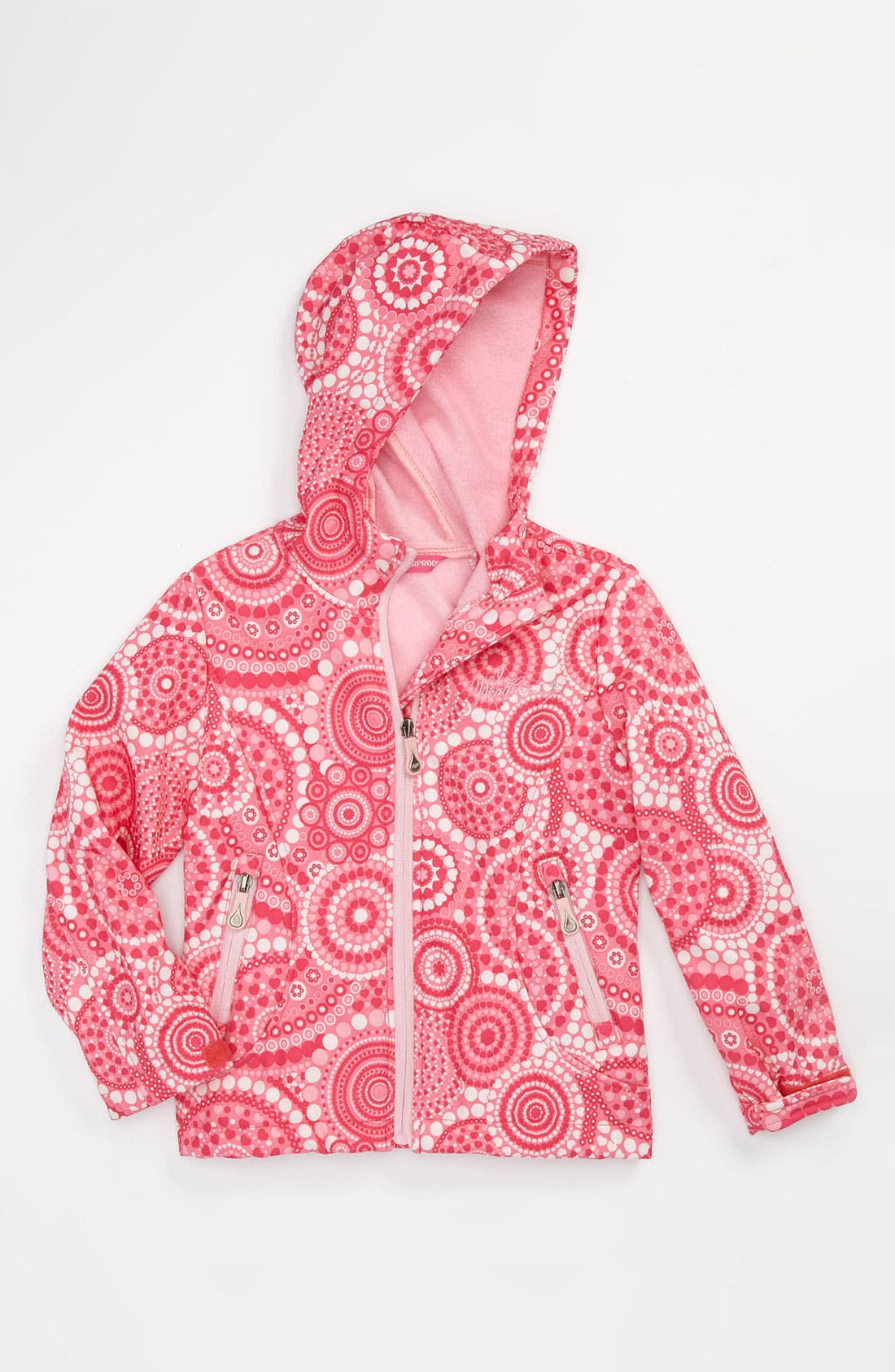 Alternate Image 1 Selected - Weatherproof® Print Jacket (Little Girls)