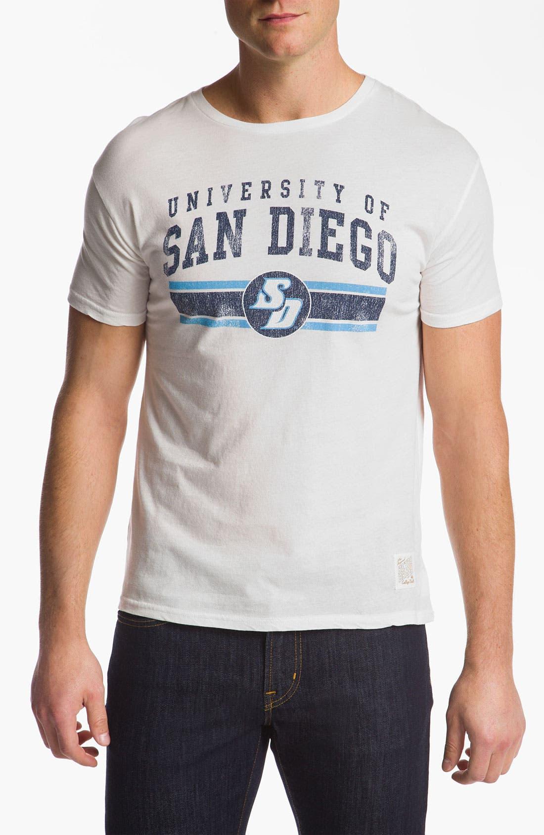 Alternate Image 1 Selected - The Original Retro Brand 'University of San Diego' T-Shirt