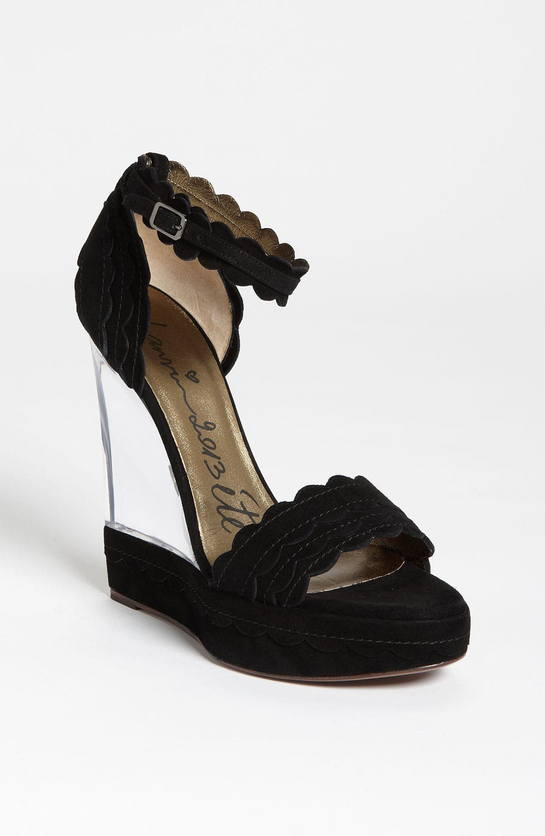 Alternate Image 1 Selected - Lanvin Lucite® Wedge Sandal