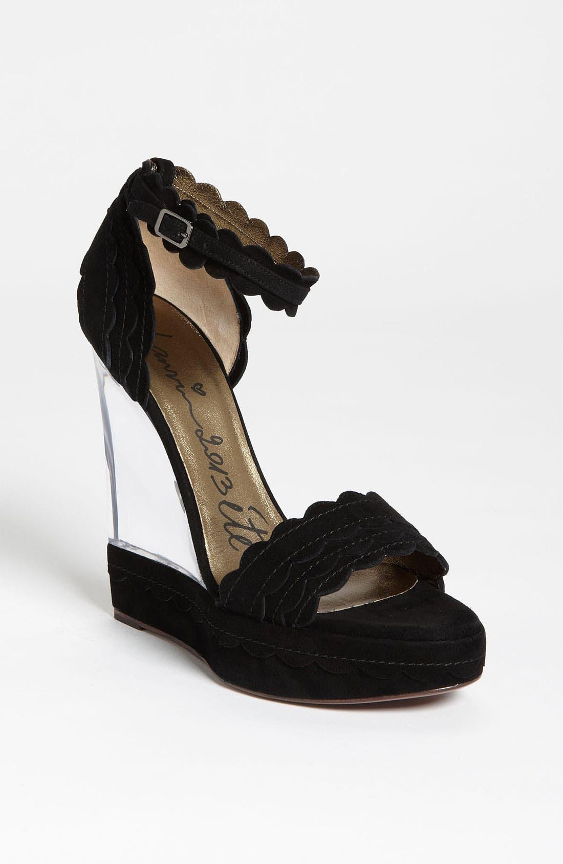 Main Image - Lanvin Lucite® Wedge Sandal