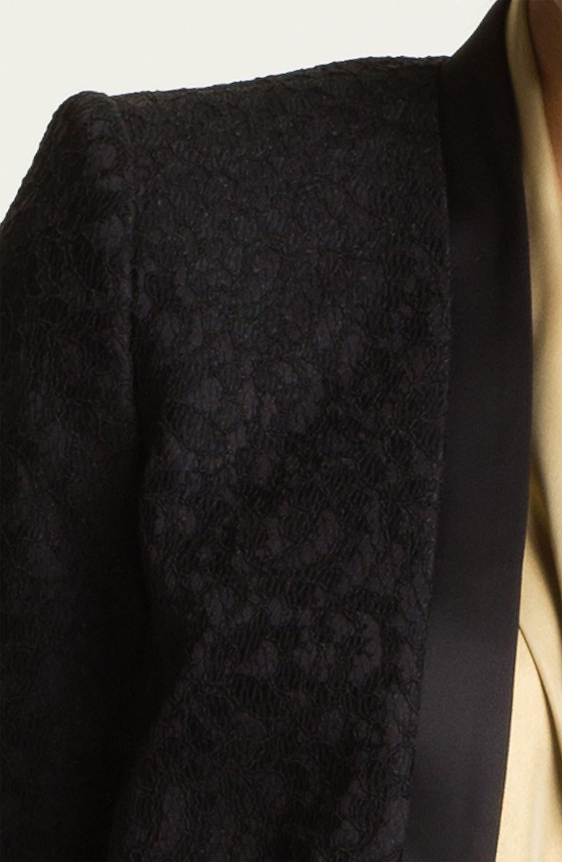 Alternate Image 3  - Vince Camuto Lace Jacket