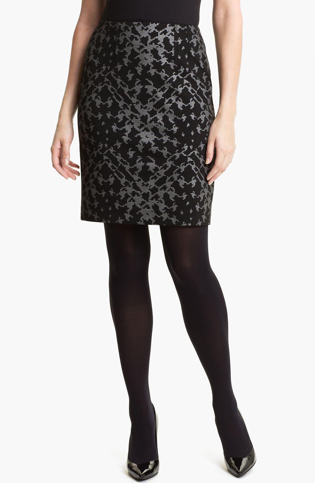 Alternate Image 1 Selected - Halogen® Ponte Pencil Skirt