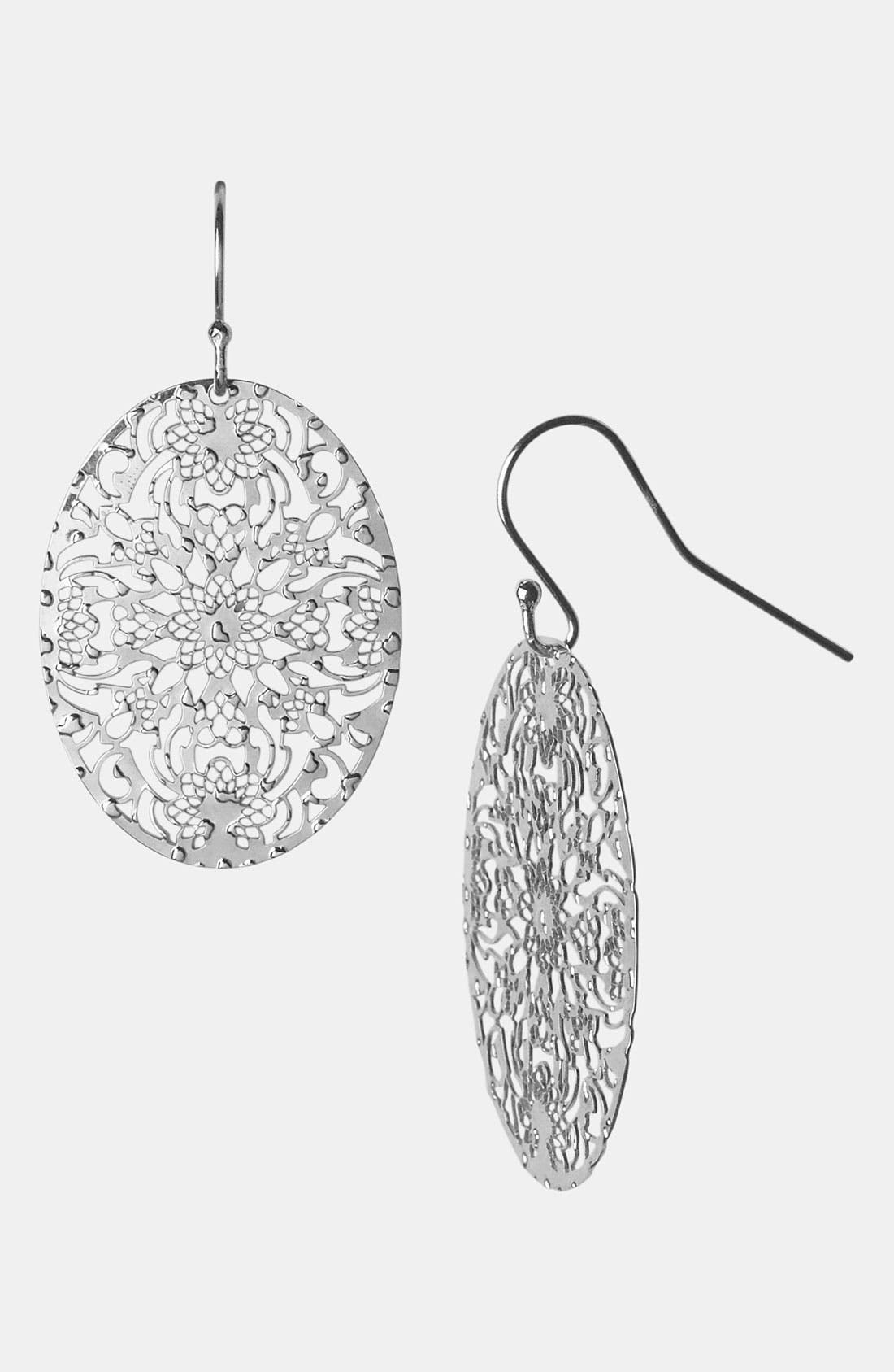 Alternate Image 1 Selected - Argento Vivo 'Mini' Drop Earrings (Nordstrom Online Exclusive)