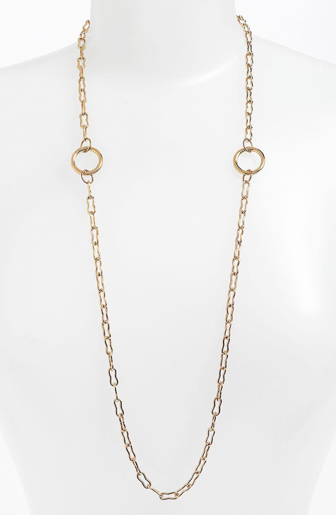 Alternate Image 1 Selected - Kelly Wearstler Bent Link Ring Necklace