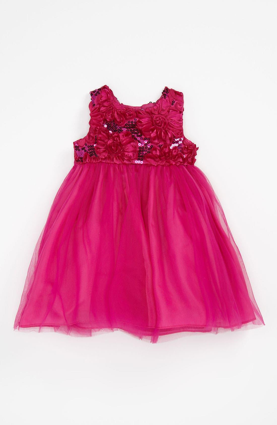 Main Image - Pippa & Julie Sequin Ballerina Dress (Toddler)