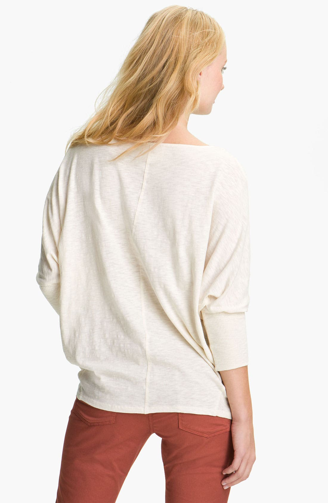 Alternate Image 2  - Two by Vince Camuto Dolman Sleeve Top (Petite)