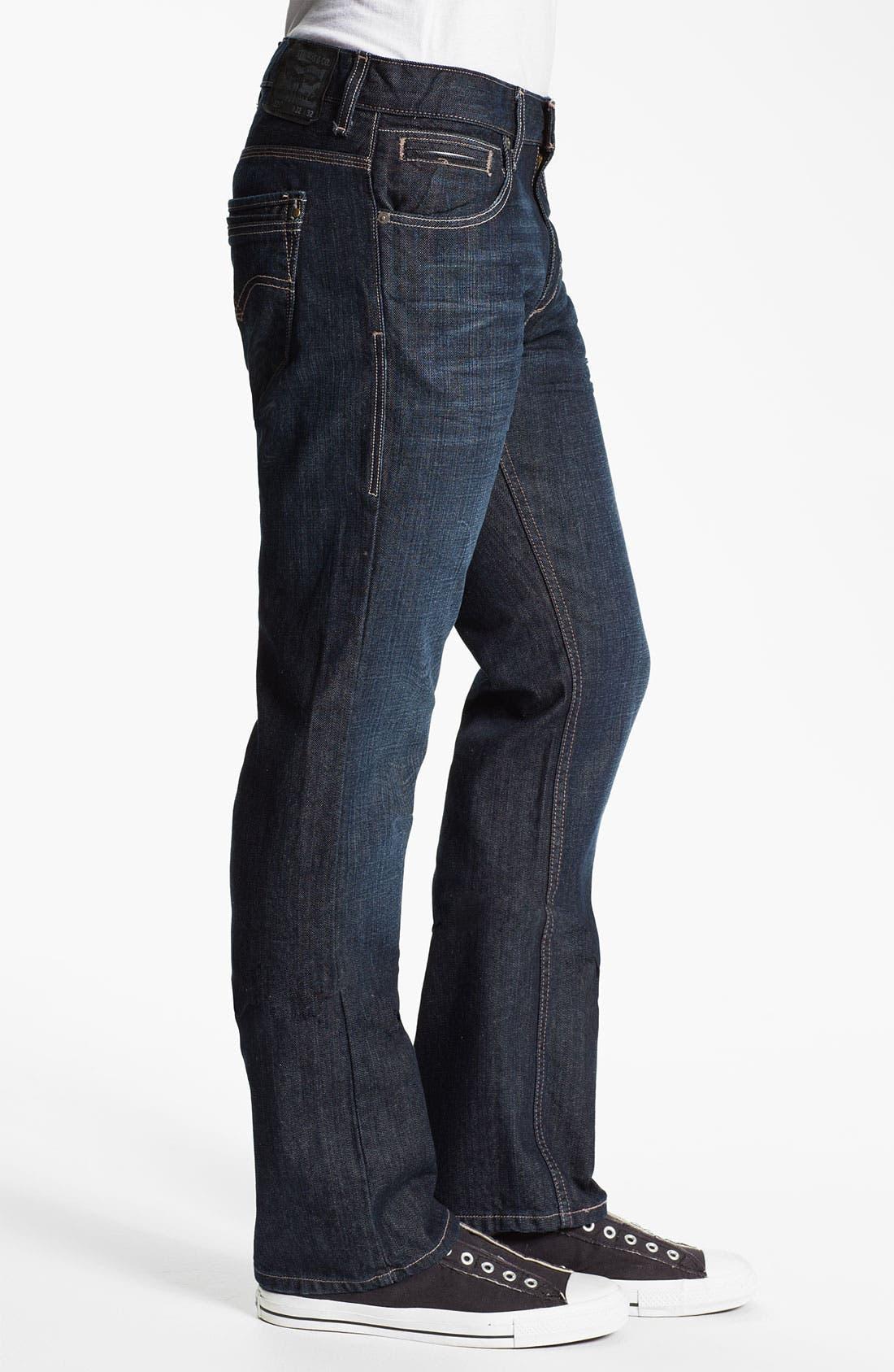 Alternate Image 3  - Levi's® '527™' Slim Bootcut Jeans (Midnight Train)