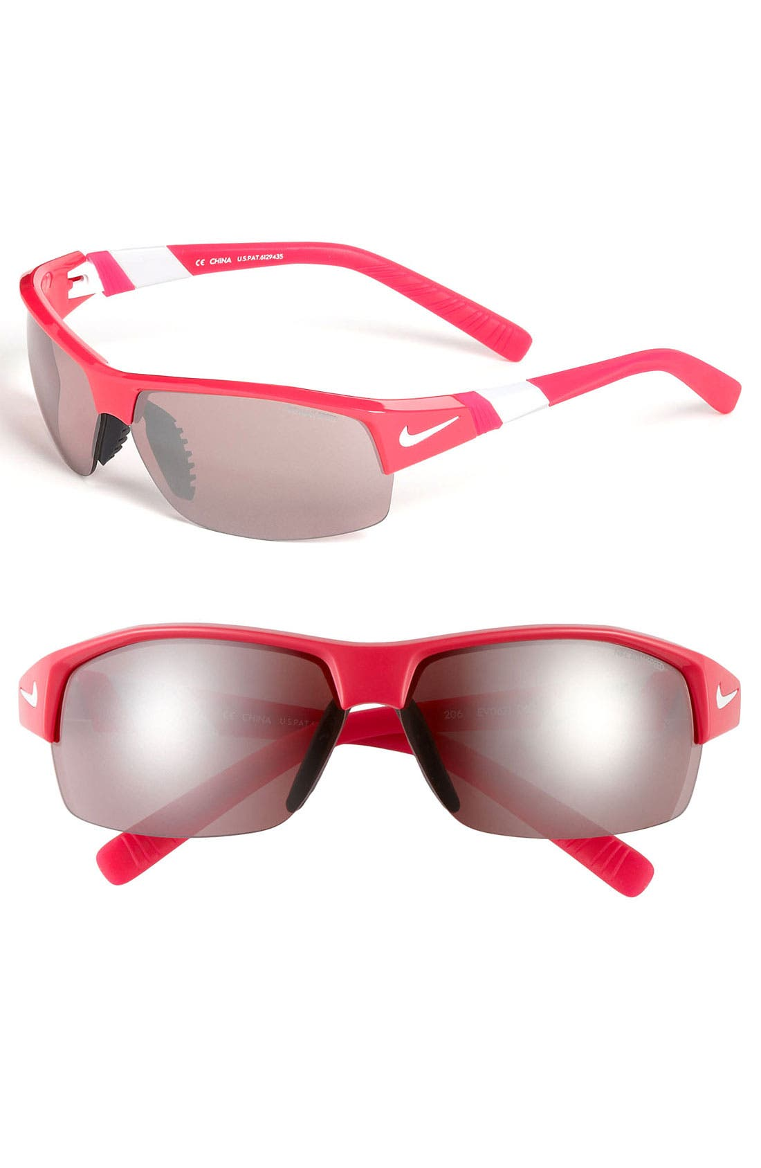 Alternate Image 1 Selected - Nike 'Show X2.E' 69mm Semi Rimless Sunglasses