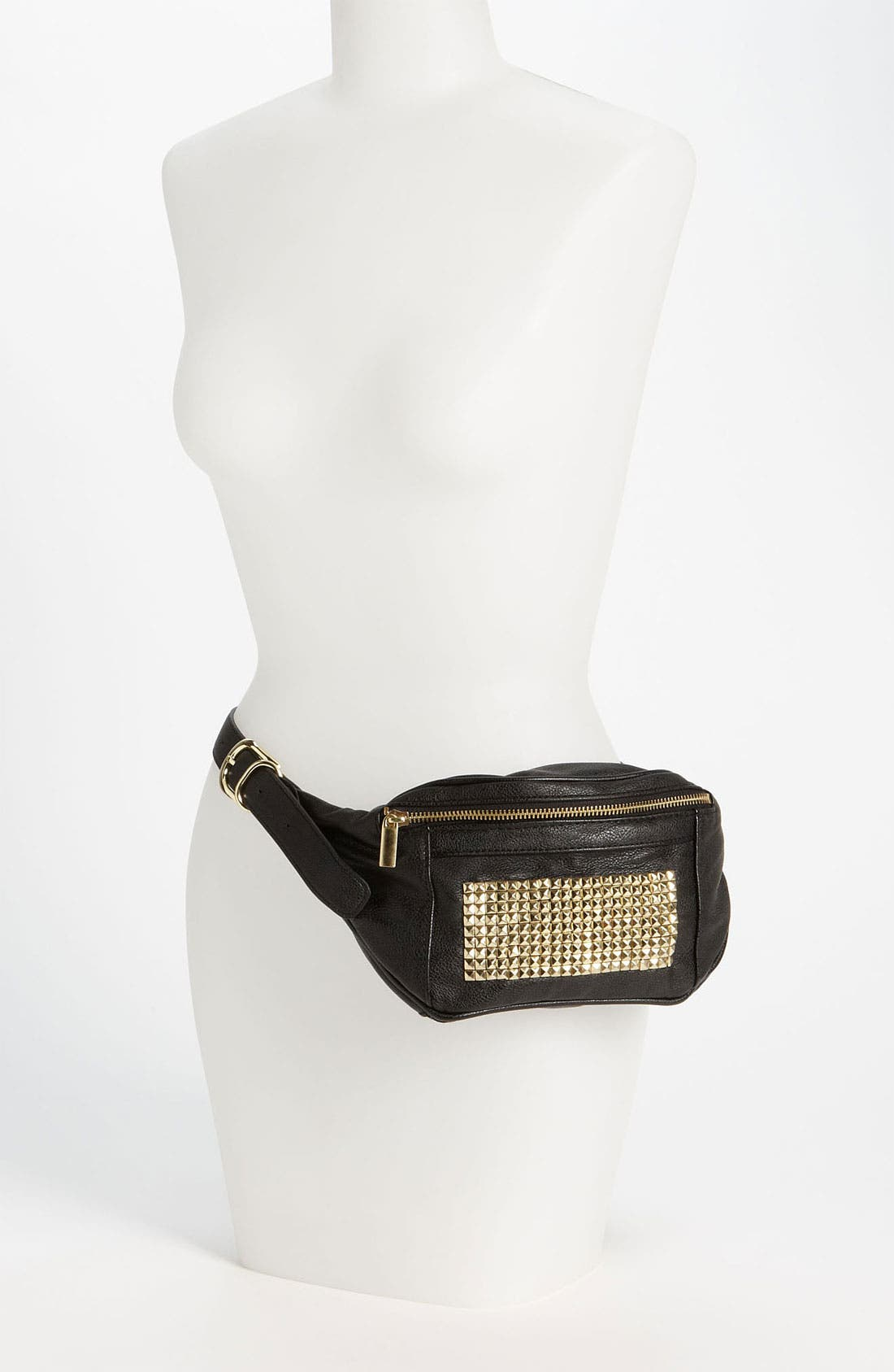 Alternate Image 2  - Topshop Studded Belt Pouch