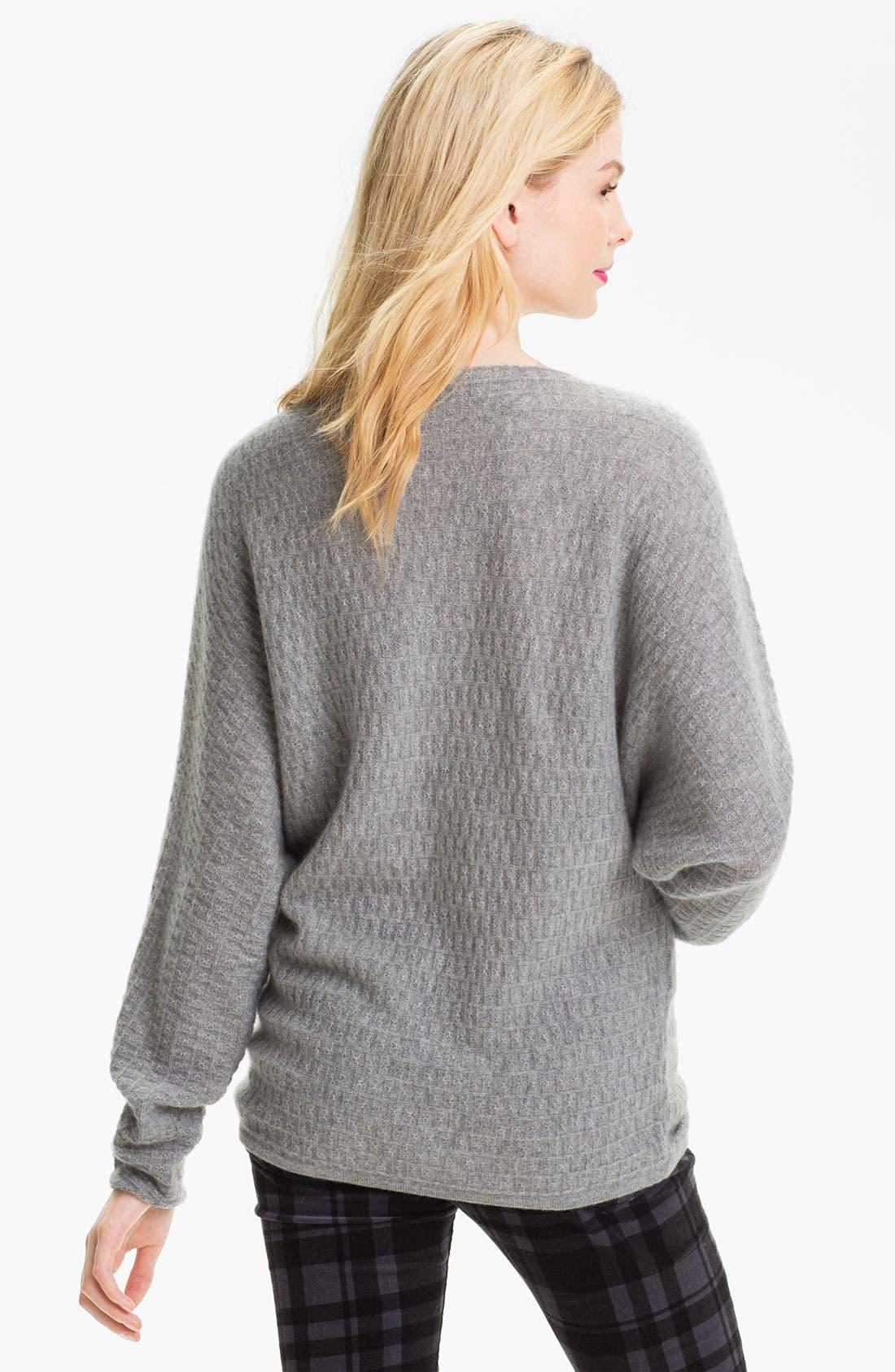 Alternate Image 2  - Only Mine Textured Dolman Sweater