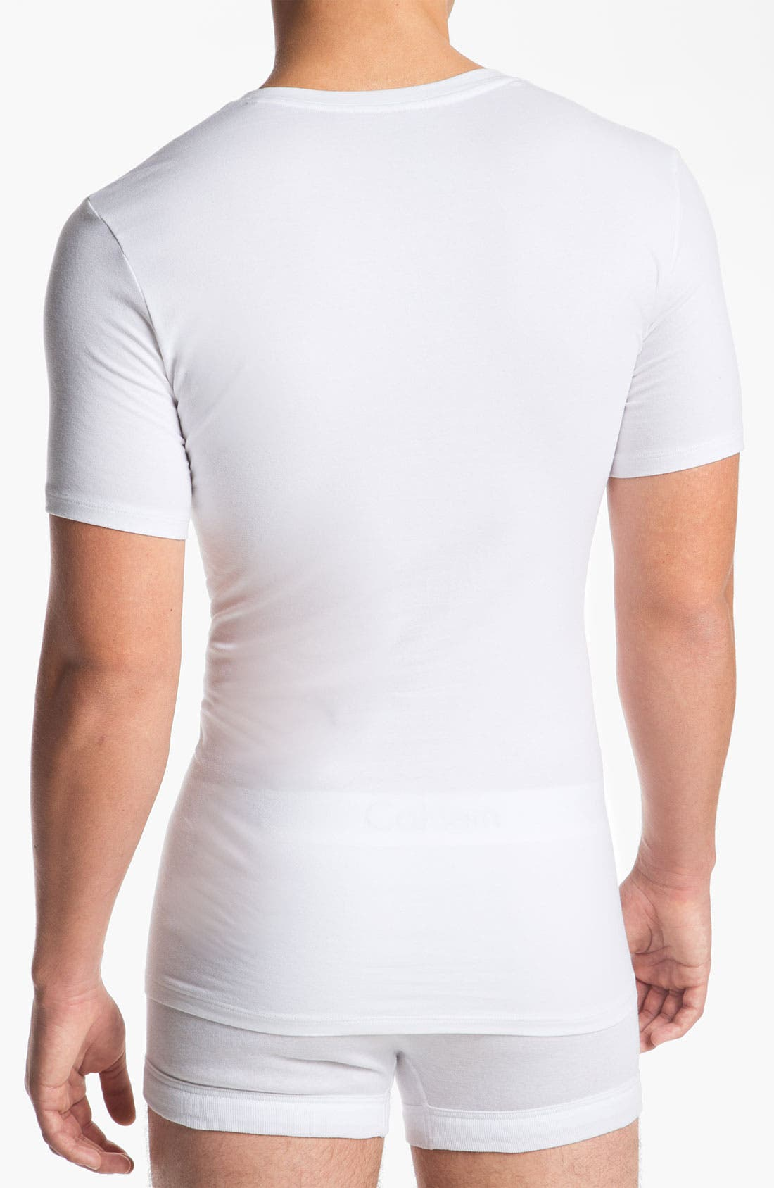 Alternate Image 2  - Calvin Klein 'Pro Stretch' Slim Fit V-Neck T-Shirt