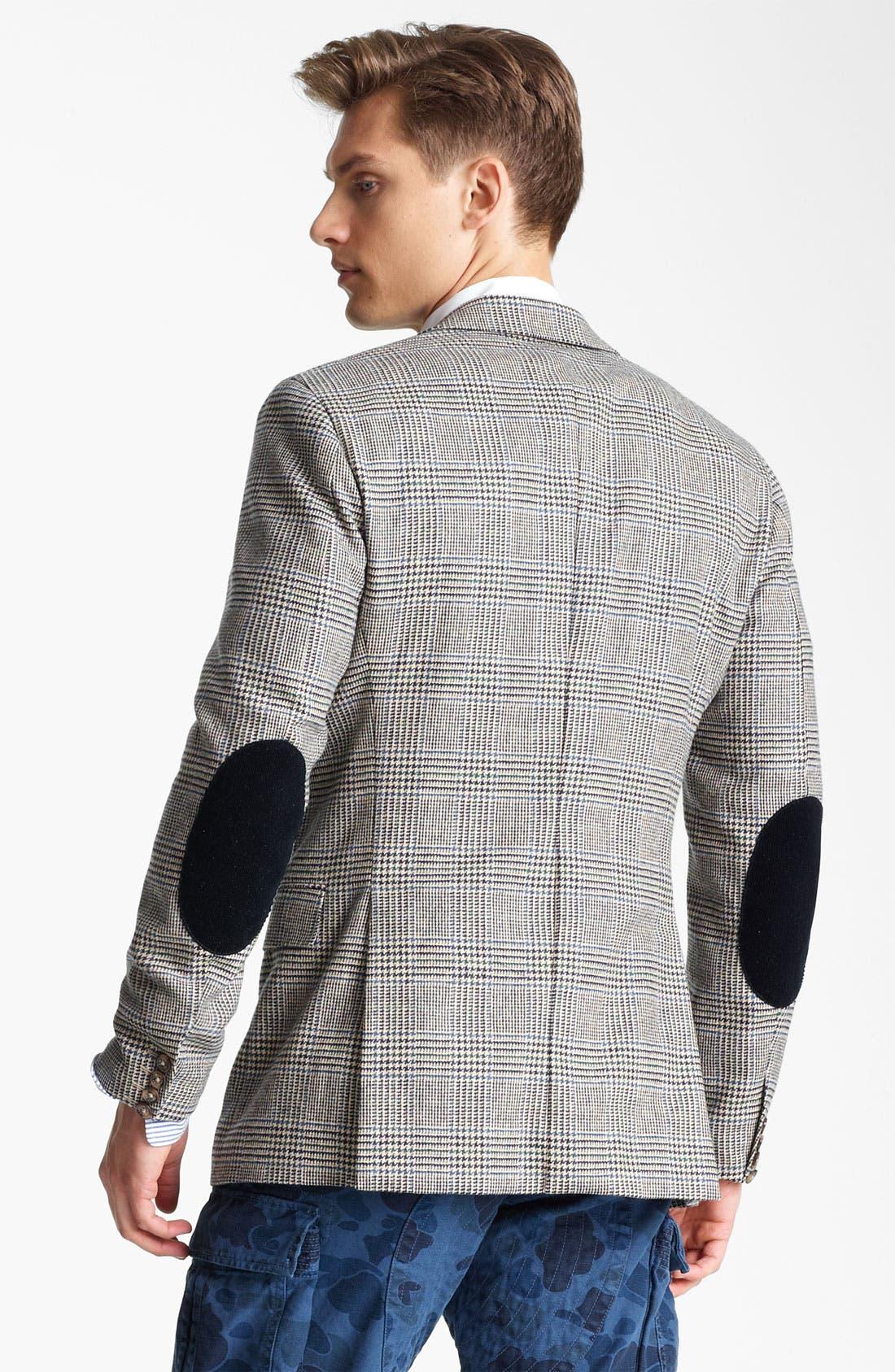 Alternate Image 2  - Gant Glen Plaid Wool Blazer
