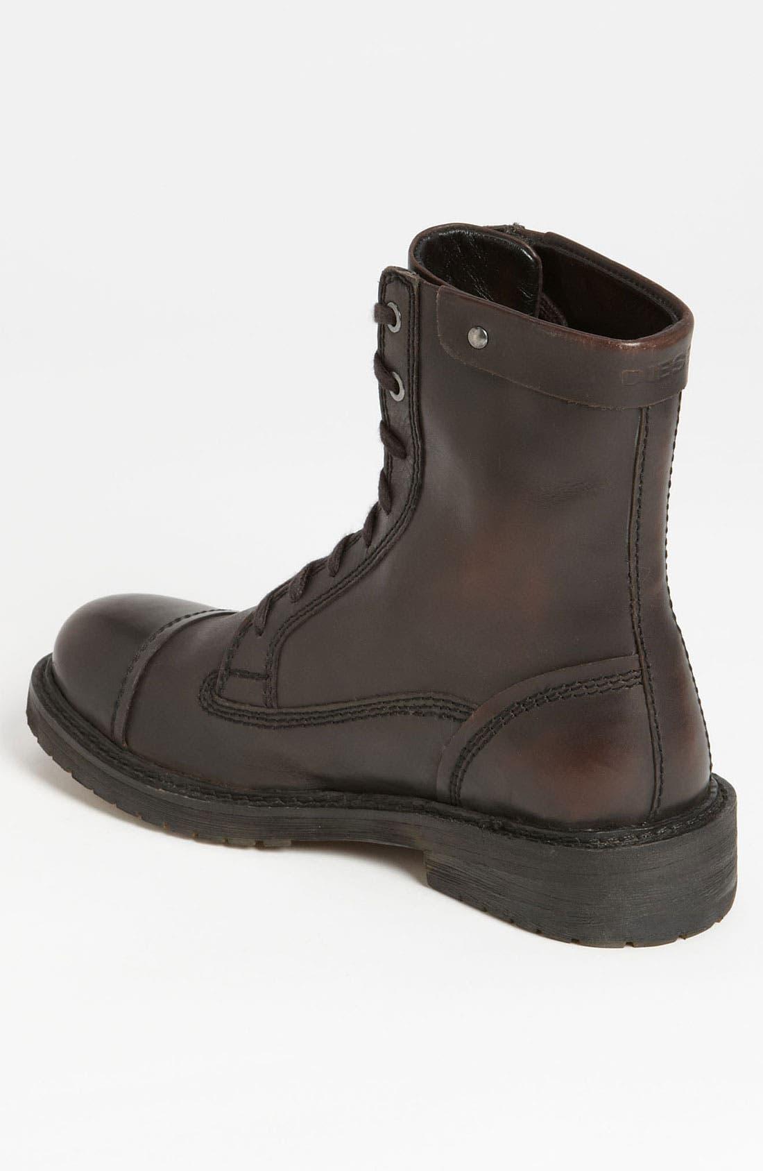 Alternate Image 2  - DIESEL® 'Anfist Unplagged' Cap Toe Boot