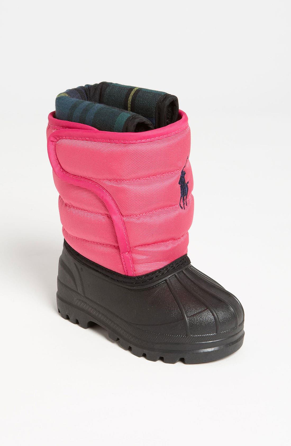 Main Image - Polo Ralph Lauren Waterproof Duck Boot (Baby, Walker, Toddler & Big Kid)