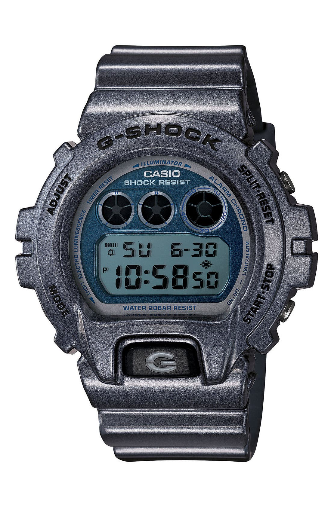 Alternate Image 1 Selected - G-Shock Metallic Dial Watch, 53mm x 50mm