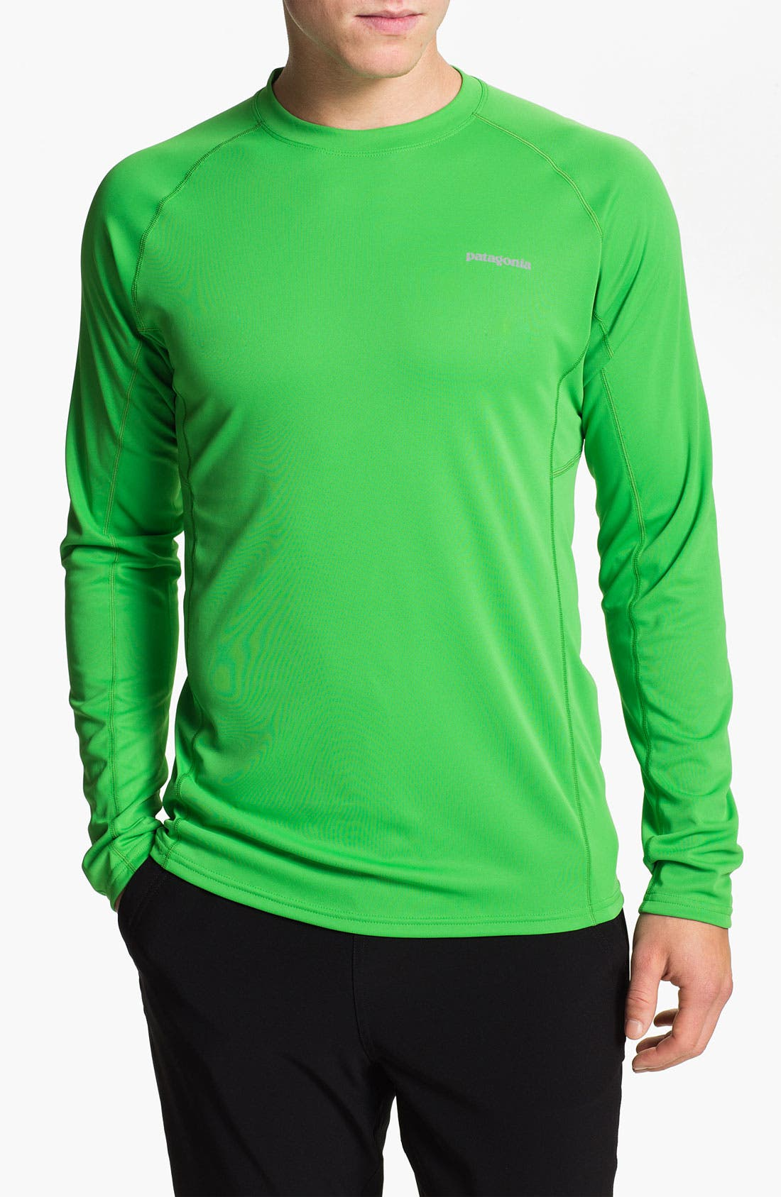 Alternate Image 1 Selected - Patagonia 'Fore Runner' Long Sleeve T-Shirt