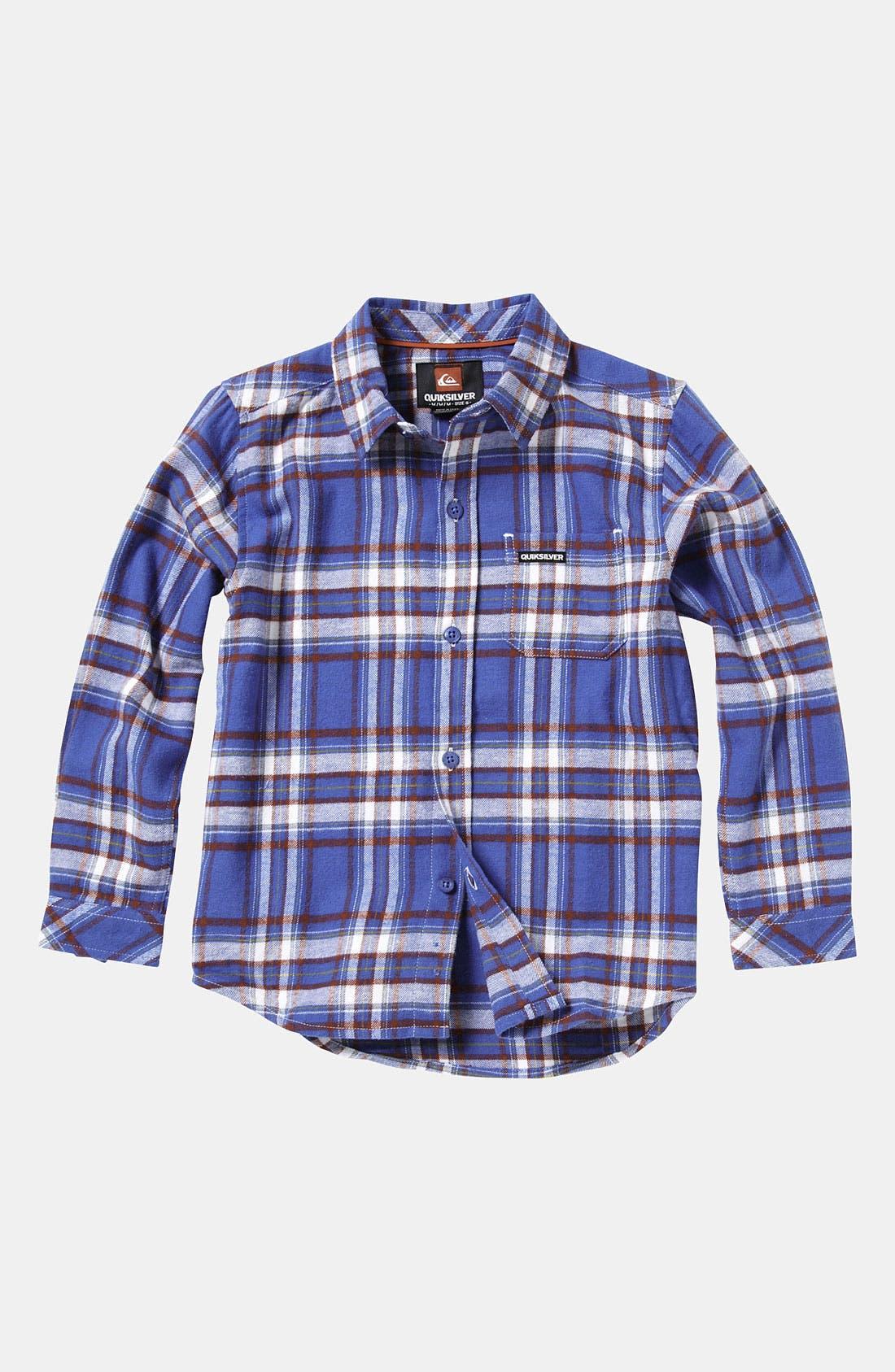 Alternate Image 1 Selected - Quiksilver 'Bunga Bunga' Woven Shirt (Little Boys)