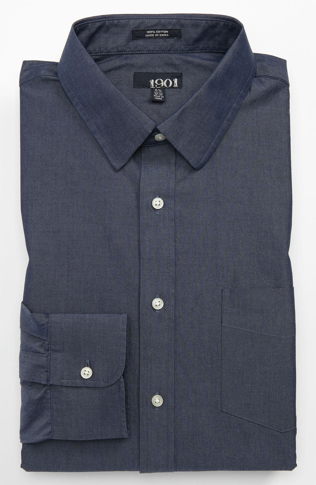 Alternate Image 1 Selected - 1901 Trim Fit Dress Shirt
