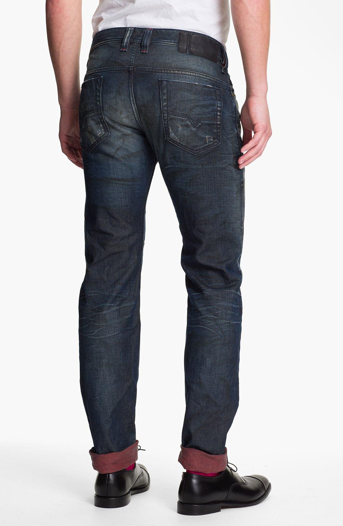 Alternate Image 1 Selected - DIESEL® 'Safado' Straight Leg Jeans (0804K)