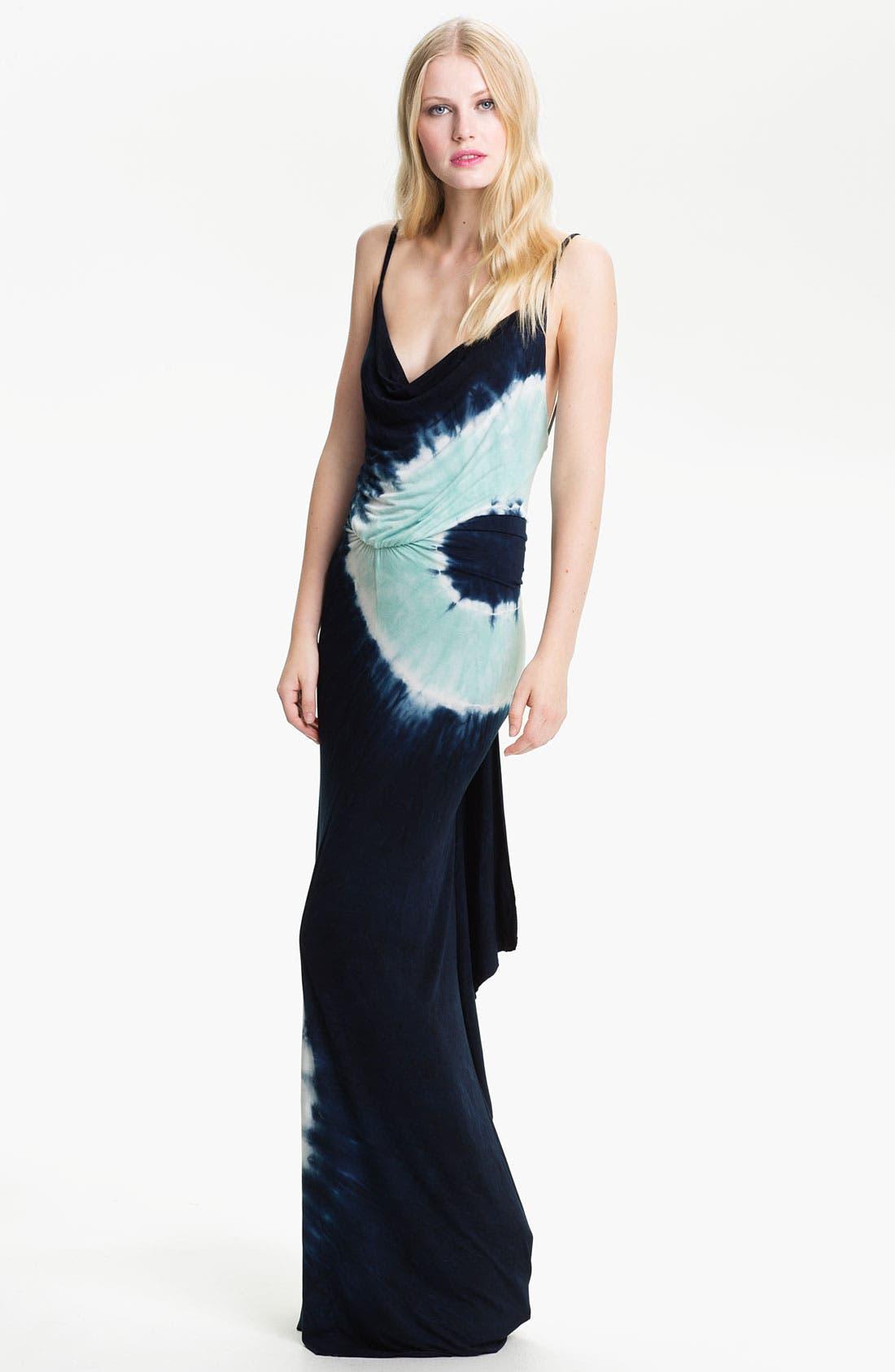 Alternate Image 1 Selected - Young, Fabulous & Broke 'Lavinia' Tie Dye Maxi Dress